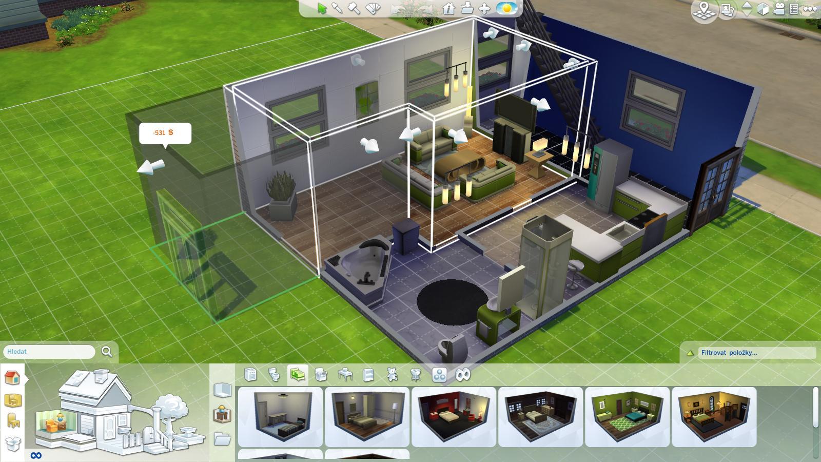The Sims 4 - lesk a bída moderní generace 100400