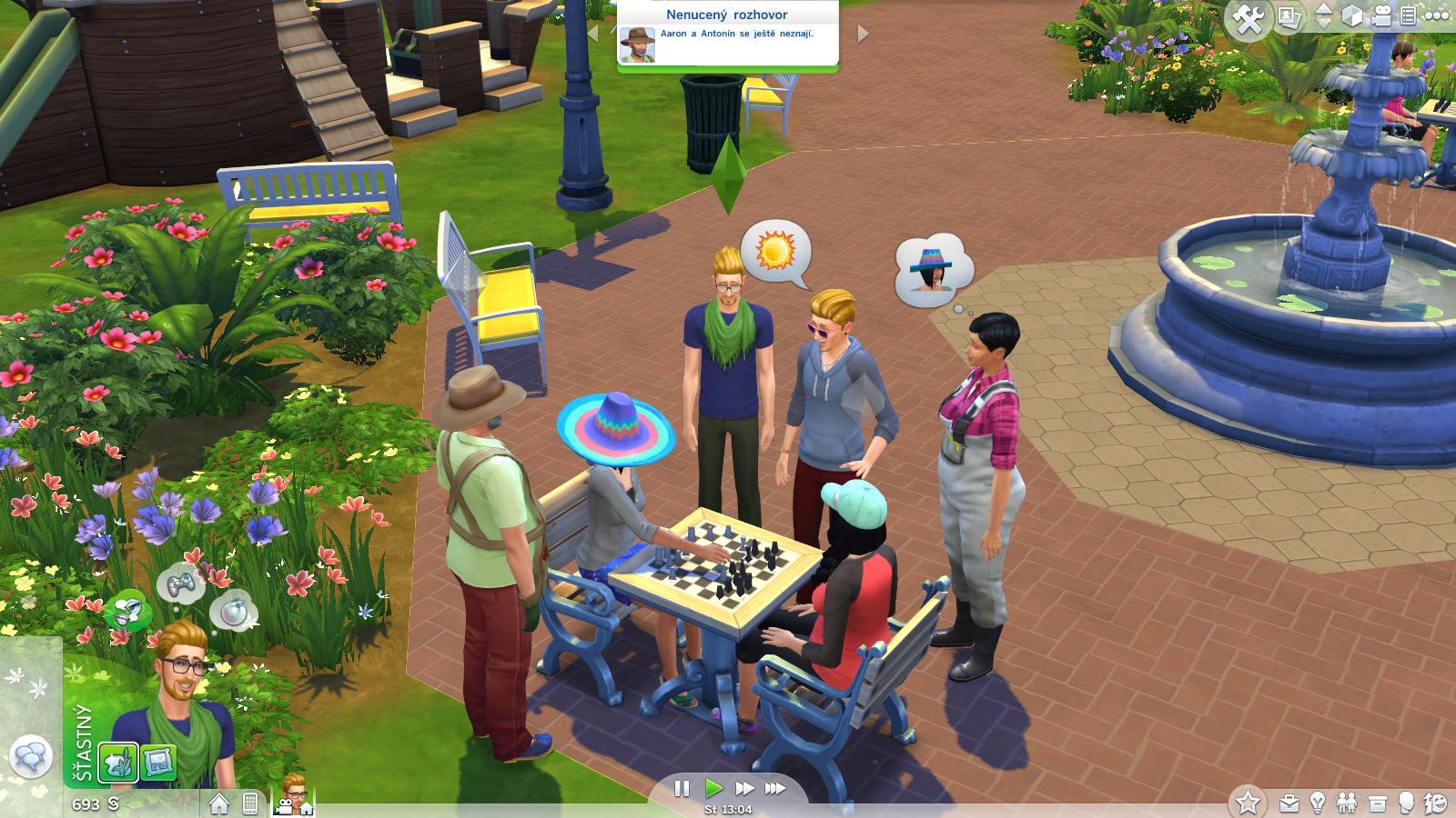 The Sims 4 - lesk a bída moderní generace 100401