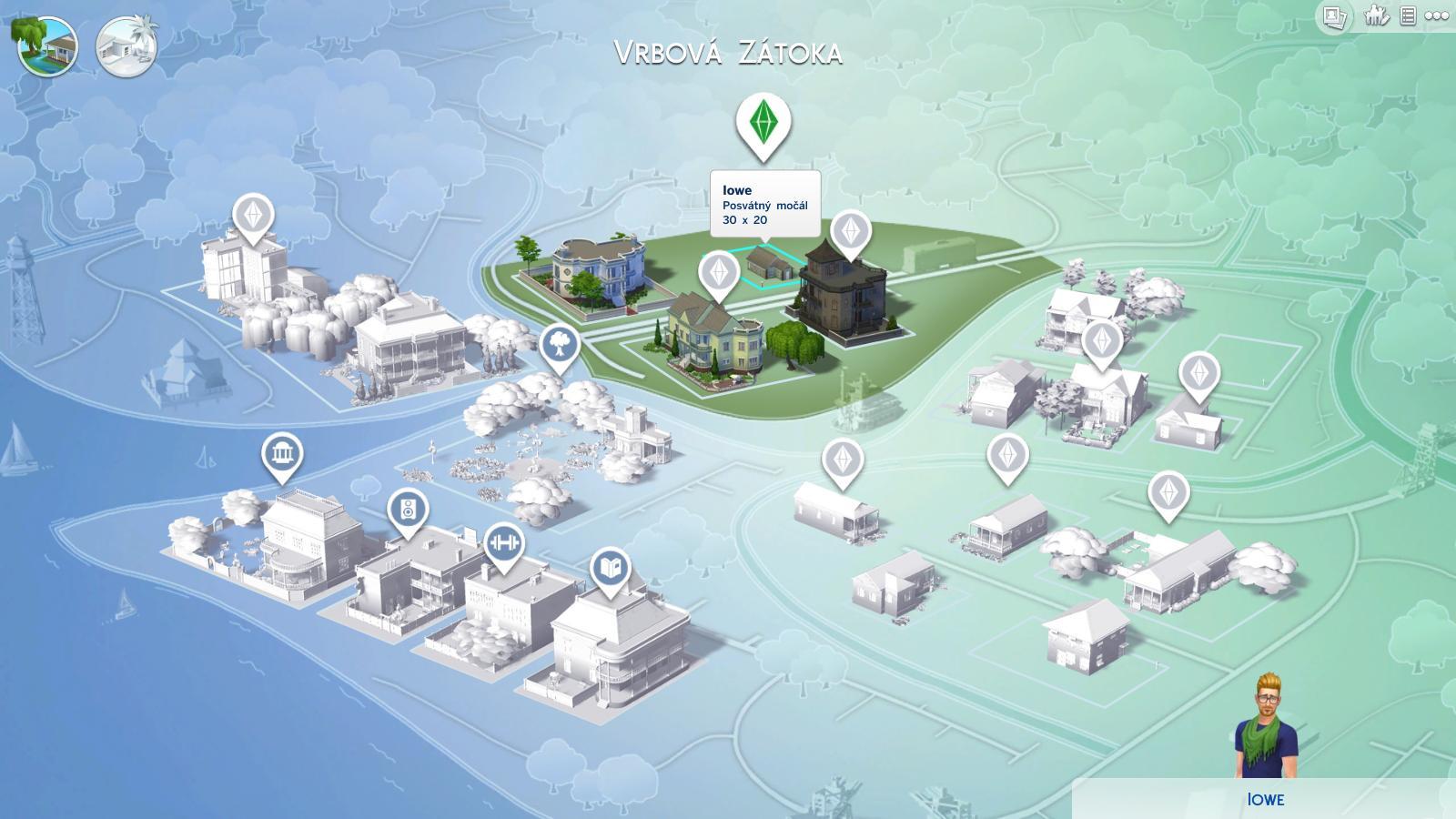 The Sims 4 - lesk a bída moderní generace 100403