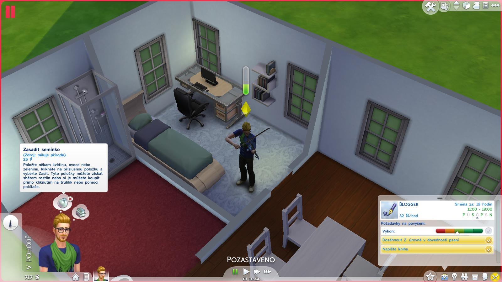 The Sims 4 - lesk a bída moderní generace 100404