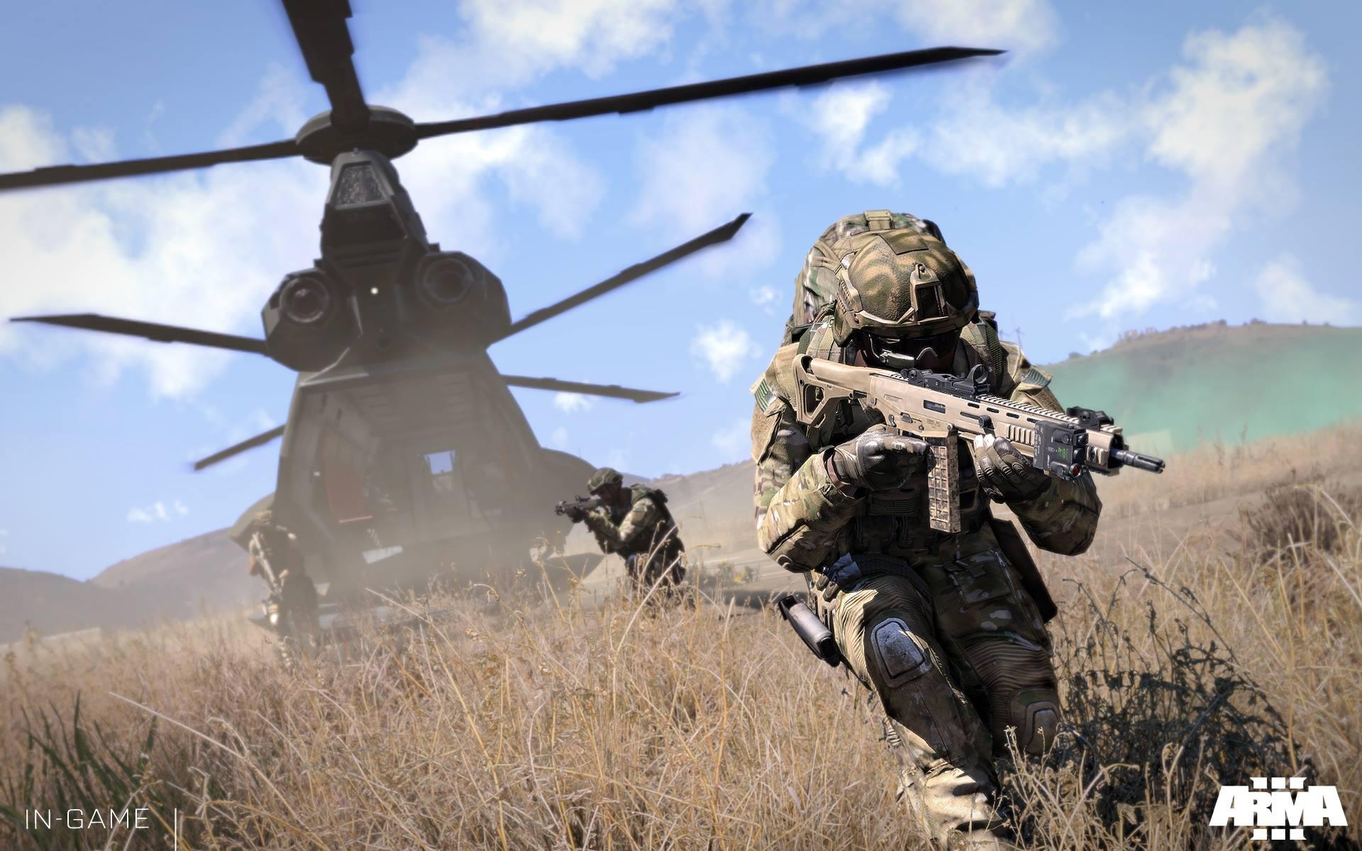 Dojmy z hraní Arma 3: Helicopters a návštěvy Bohemia Interactive 100470