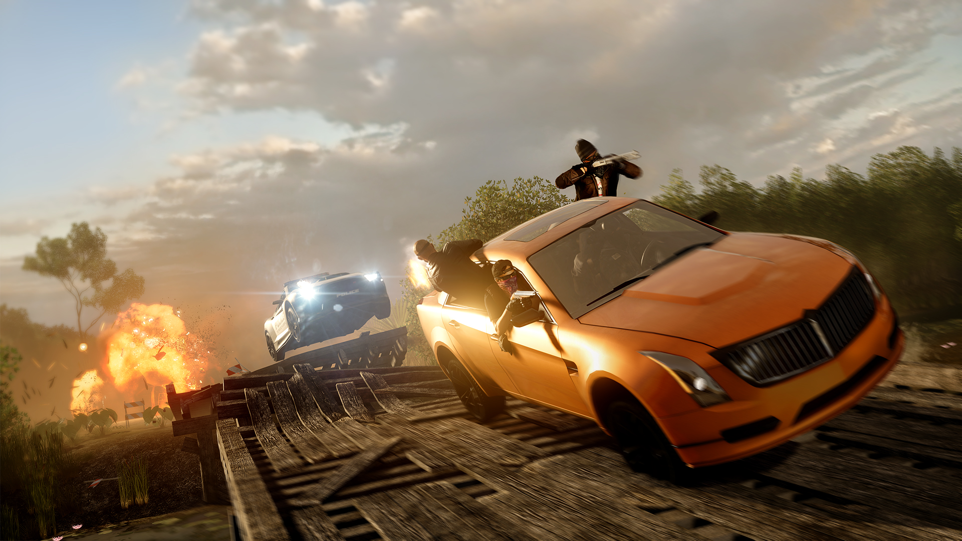 Pořádná akce s auty z multiplayeru Battlefield: Hardline 100648