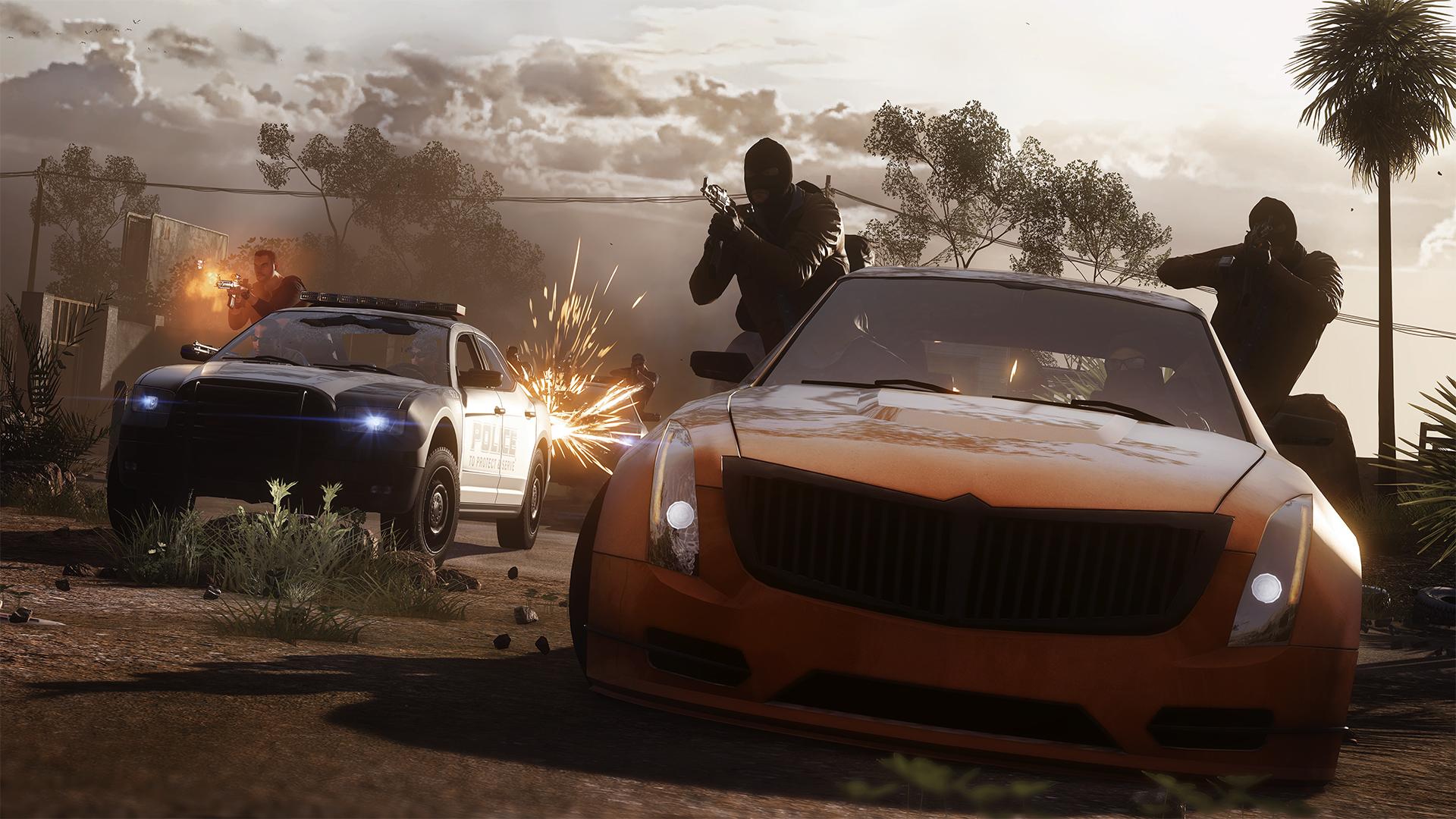 Pořádná akce s auty z multiplayeru Battlefield: Hardline 100650