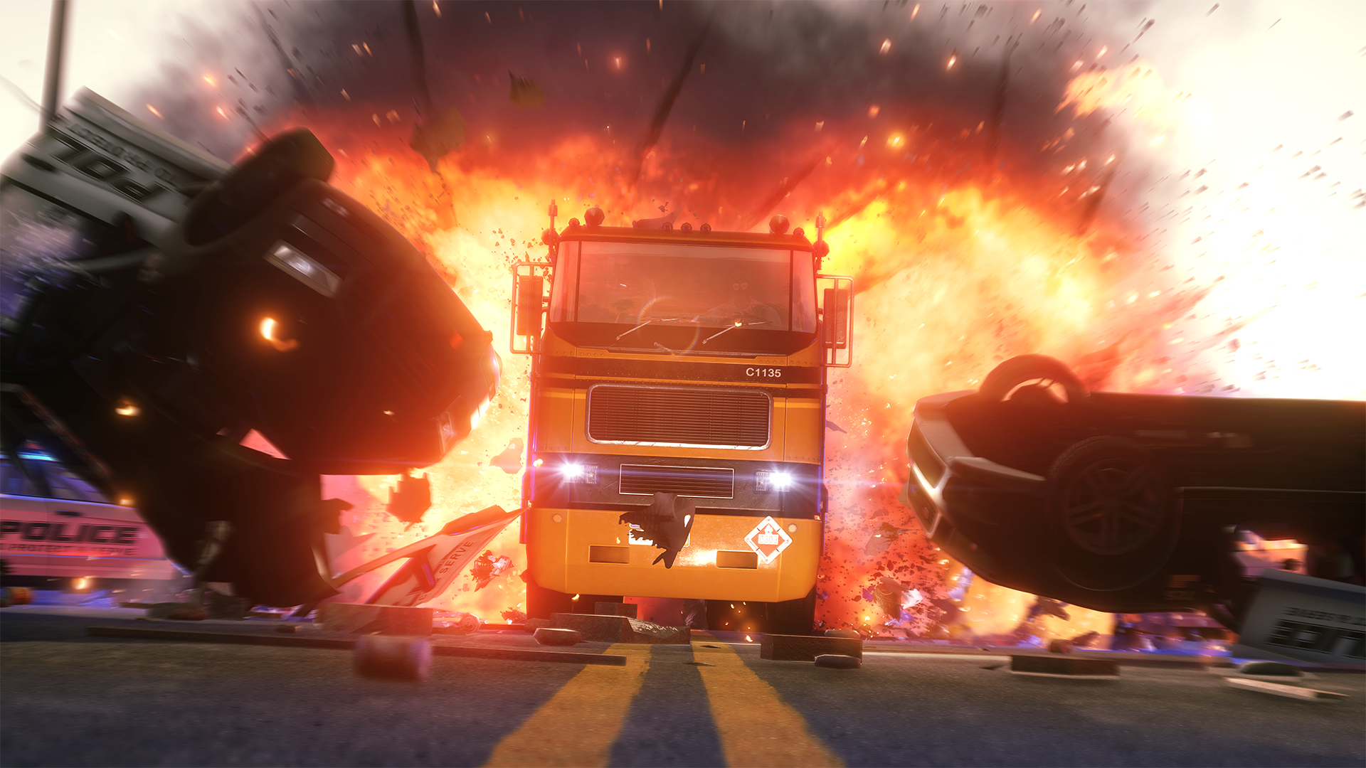 Pořádná akce s auty z multiplayeru Battlefield: Hardline 100652
