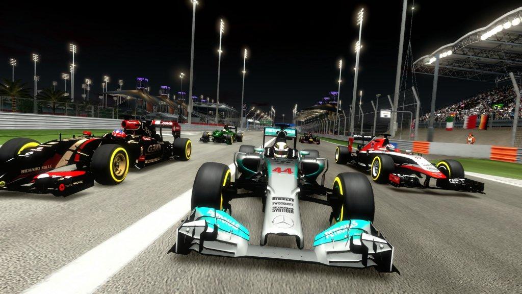 Singapore Hot Lap a obrázky z F1 2014 100656