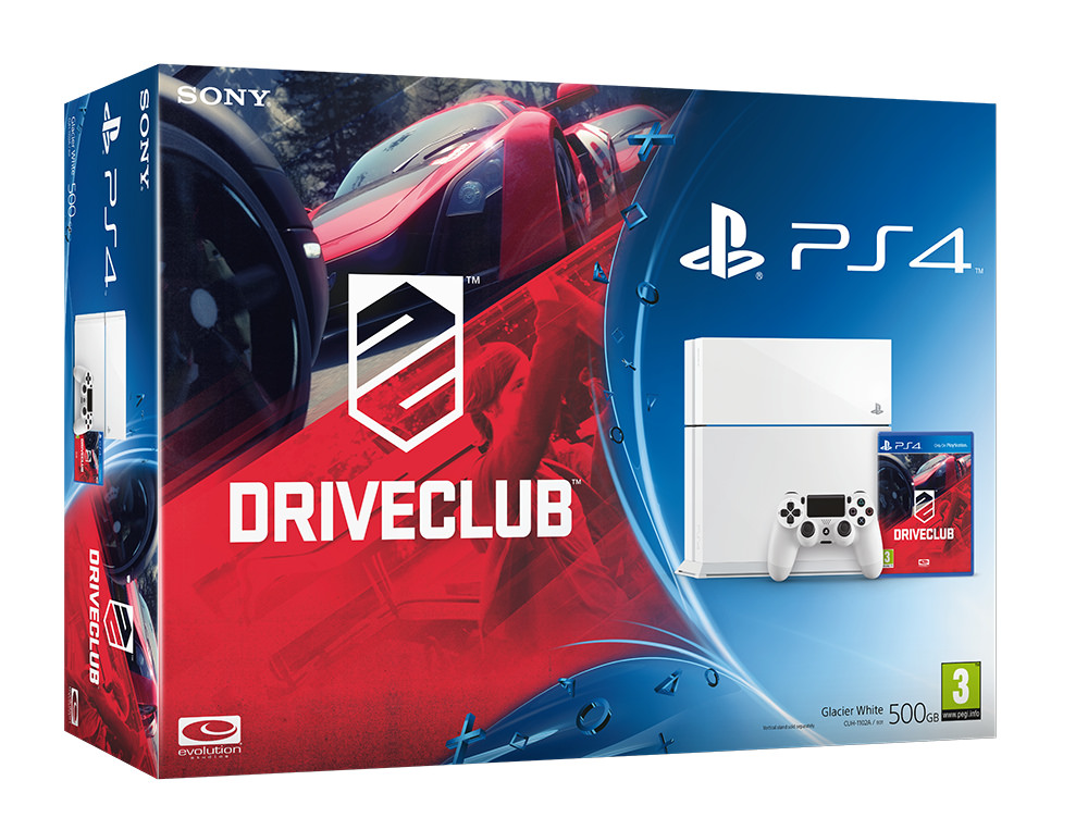 DriveClub má dva PlayStation 4 bundly 100700