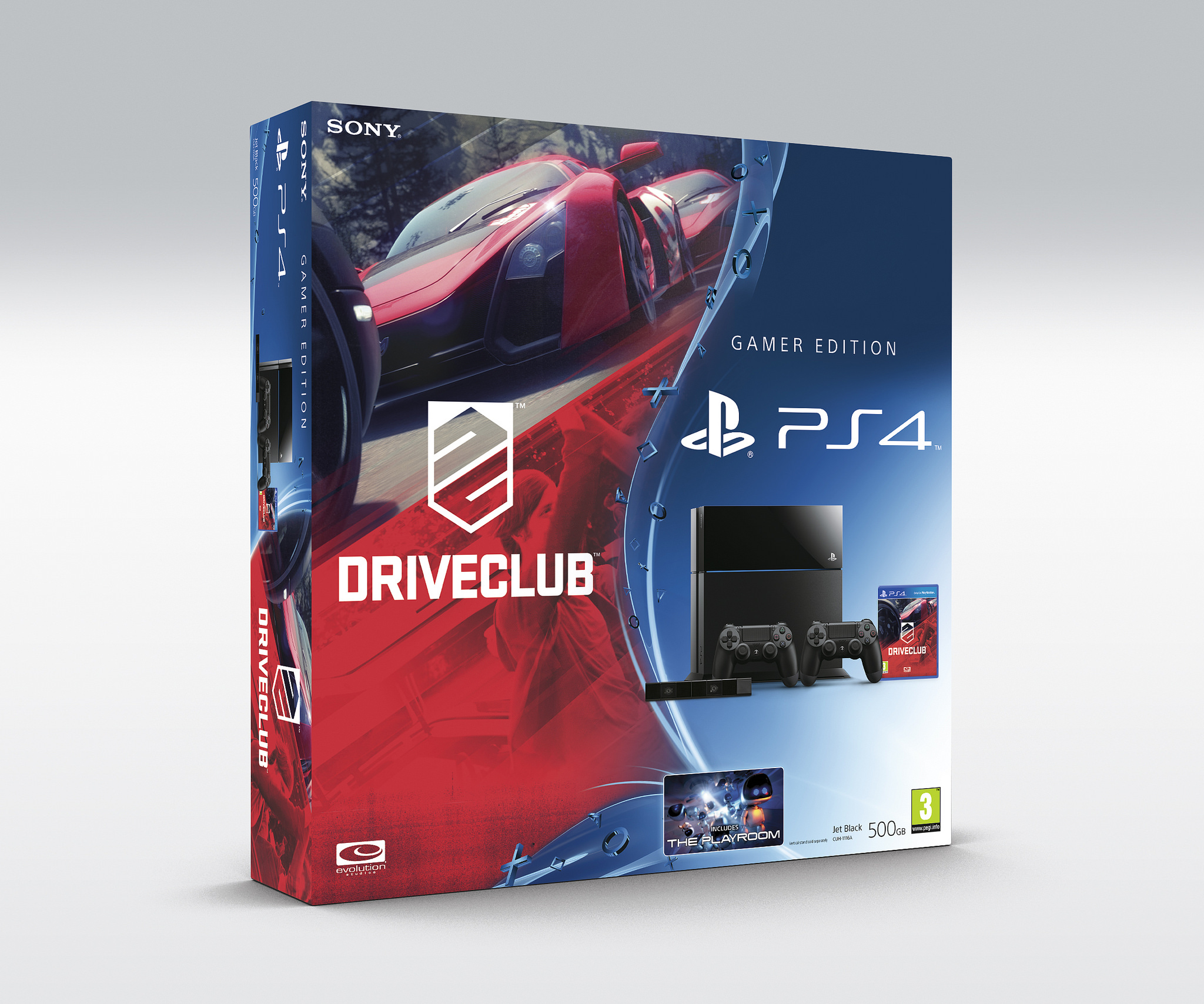 DriveClub má dva PlayStation 4 bundly 100701