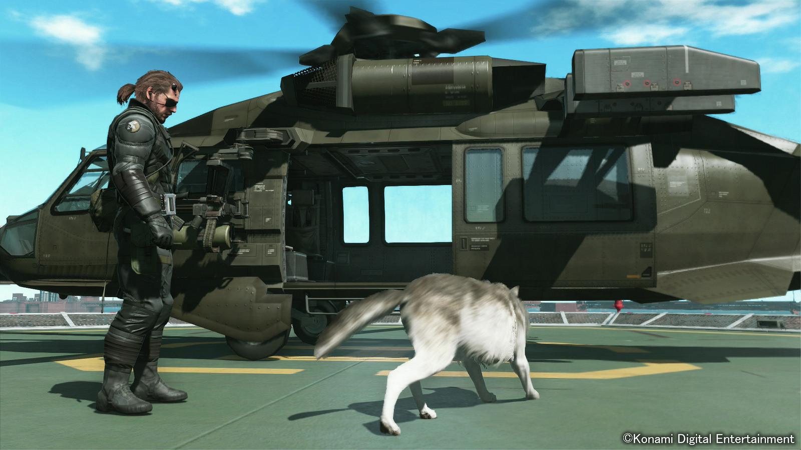Diamond Dog nejlepší přítel Snakea v Metal Gear Solid V 100703