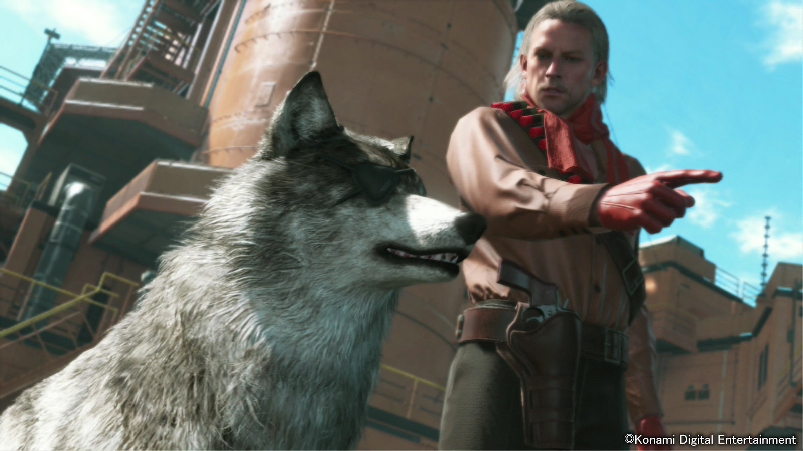 Diamond Dog nejlepší přítel Snakea v Metal Gear Solid V 100705