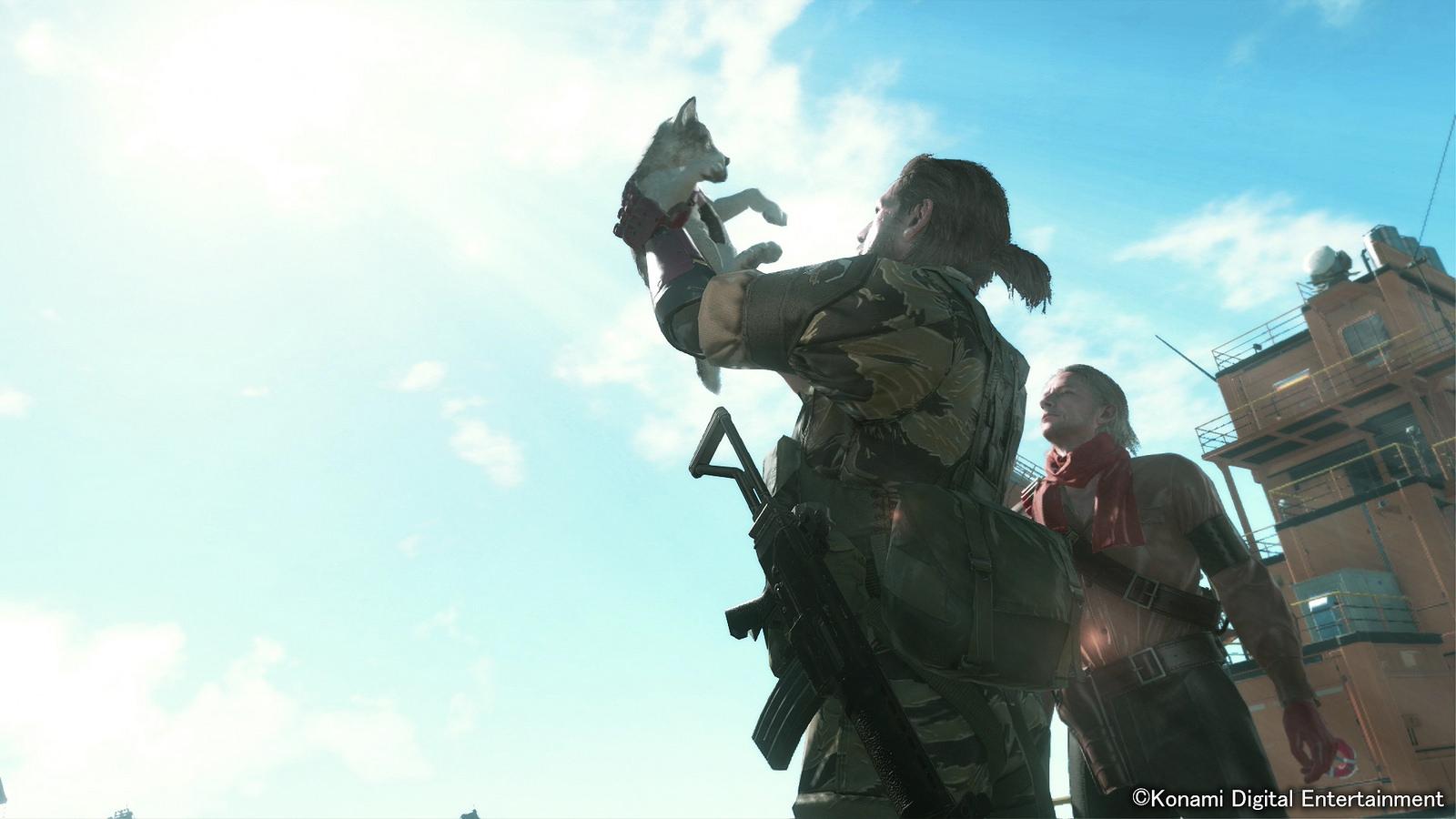 Diamond Dog nejlepší přítel Snakea v Metal Gear Solid V 100706