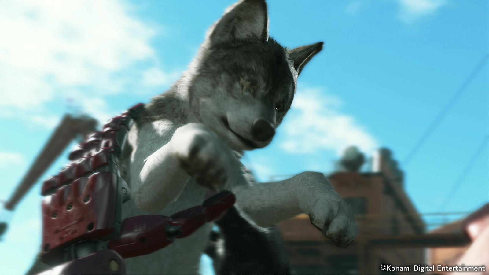 Diamond Dog nejlepší přítel Snakea v Metal Gear Solid V 100707