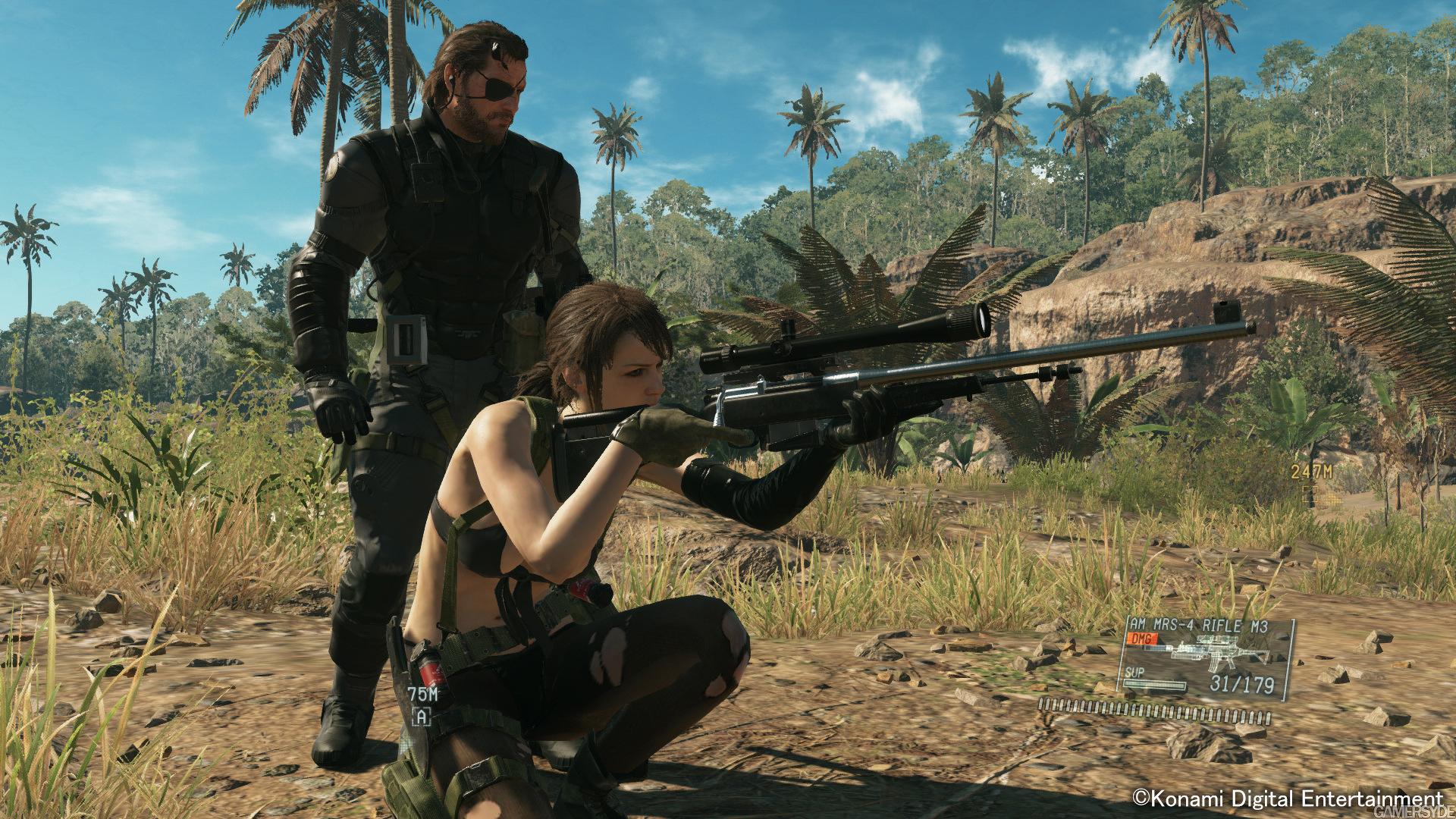 Diamond Dog nejlepší přítel Snakea v Metal Gear Solid V 100711