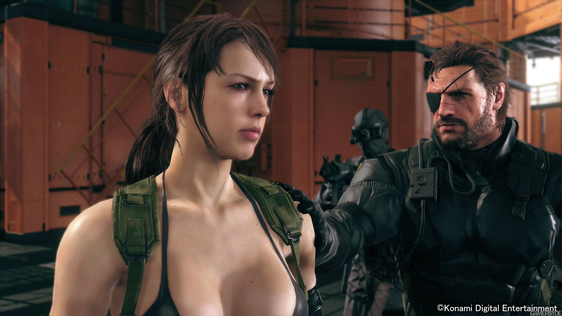 Diamond Dog nejlepší přítel Snakea v Metal Gear Solid V 100713