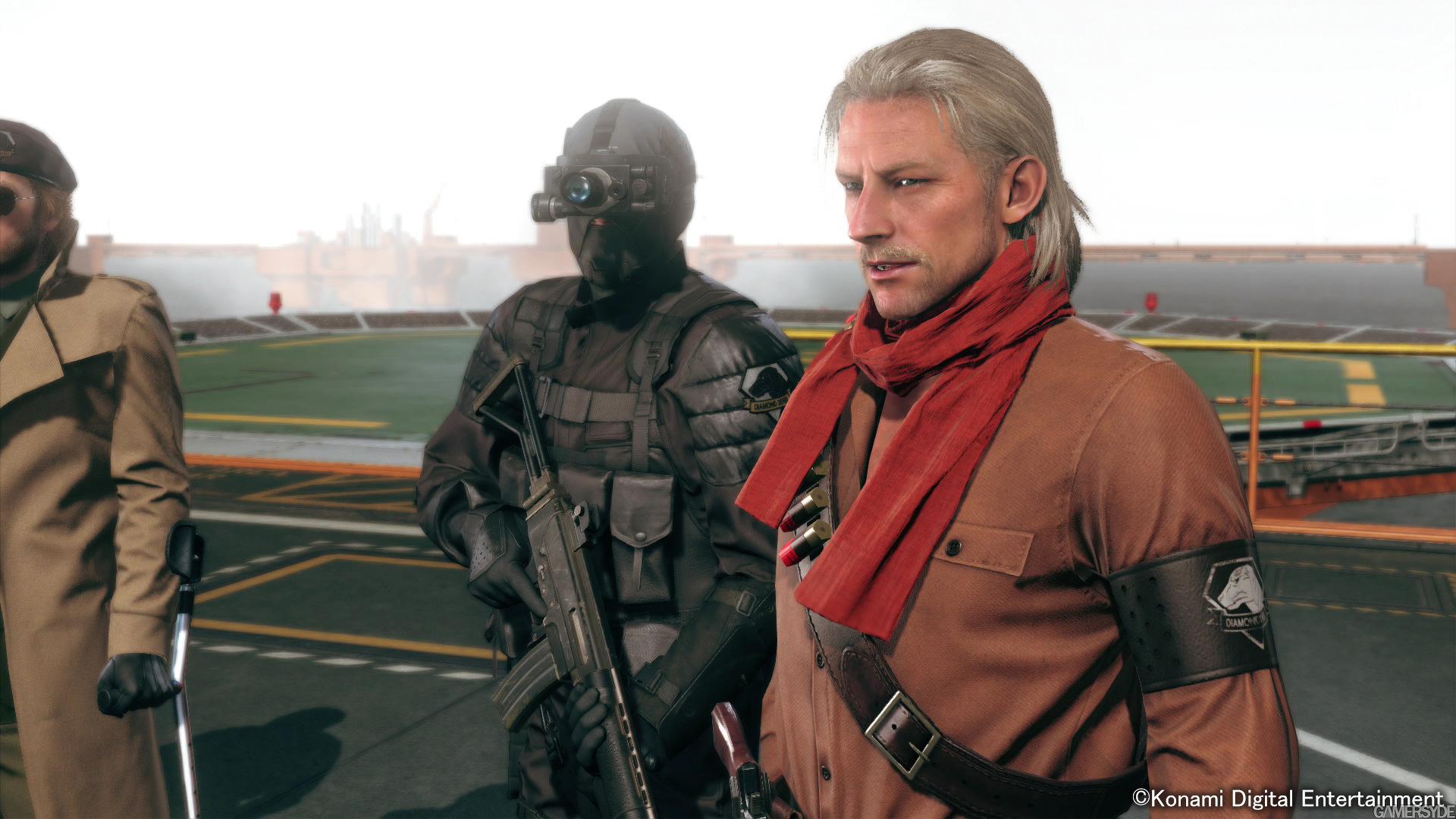 Diamond Dog nejlepší přítel Snakea v Metal Gear Solid V 100714