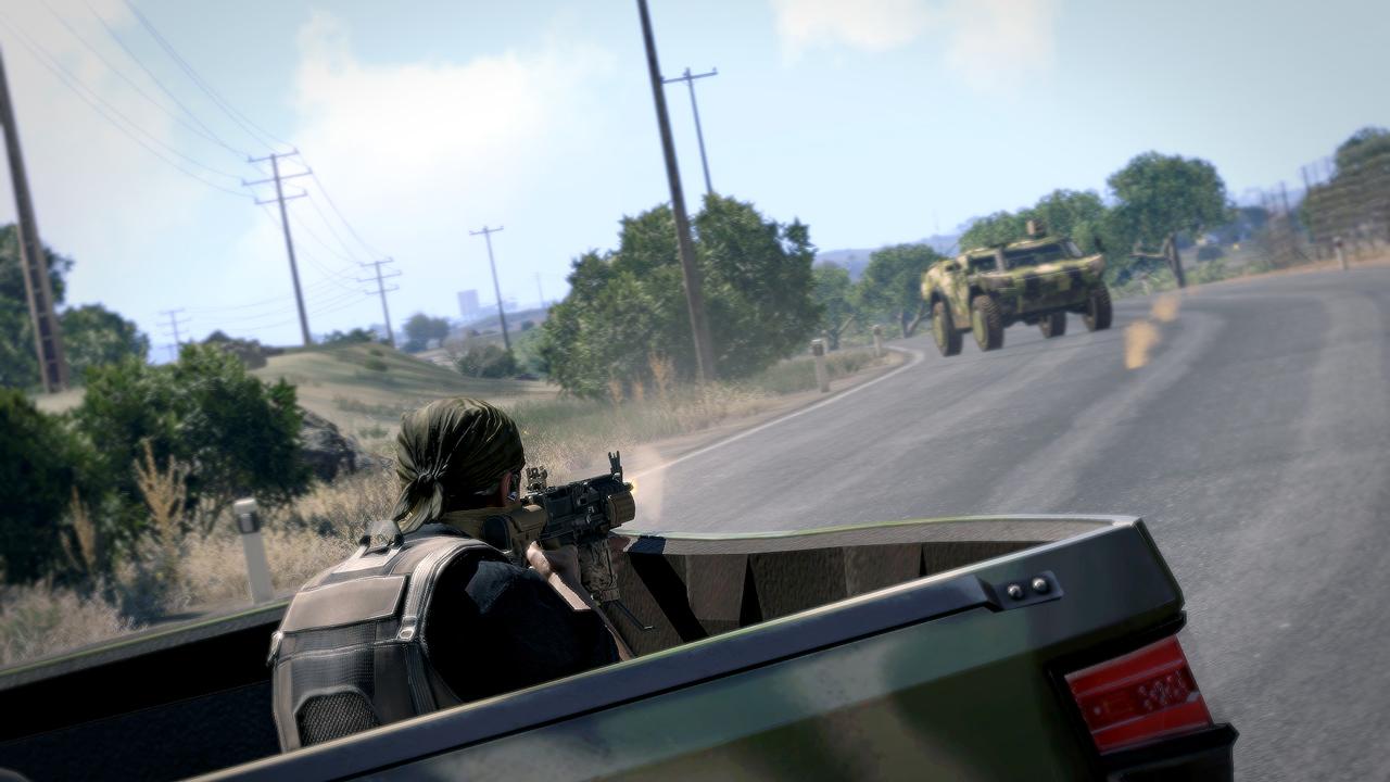 Dojmy z hraní Arma 3: Helicopters a návštěvy Bohemia Interactive 100734