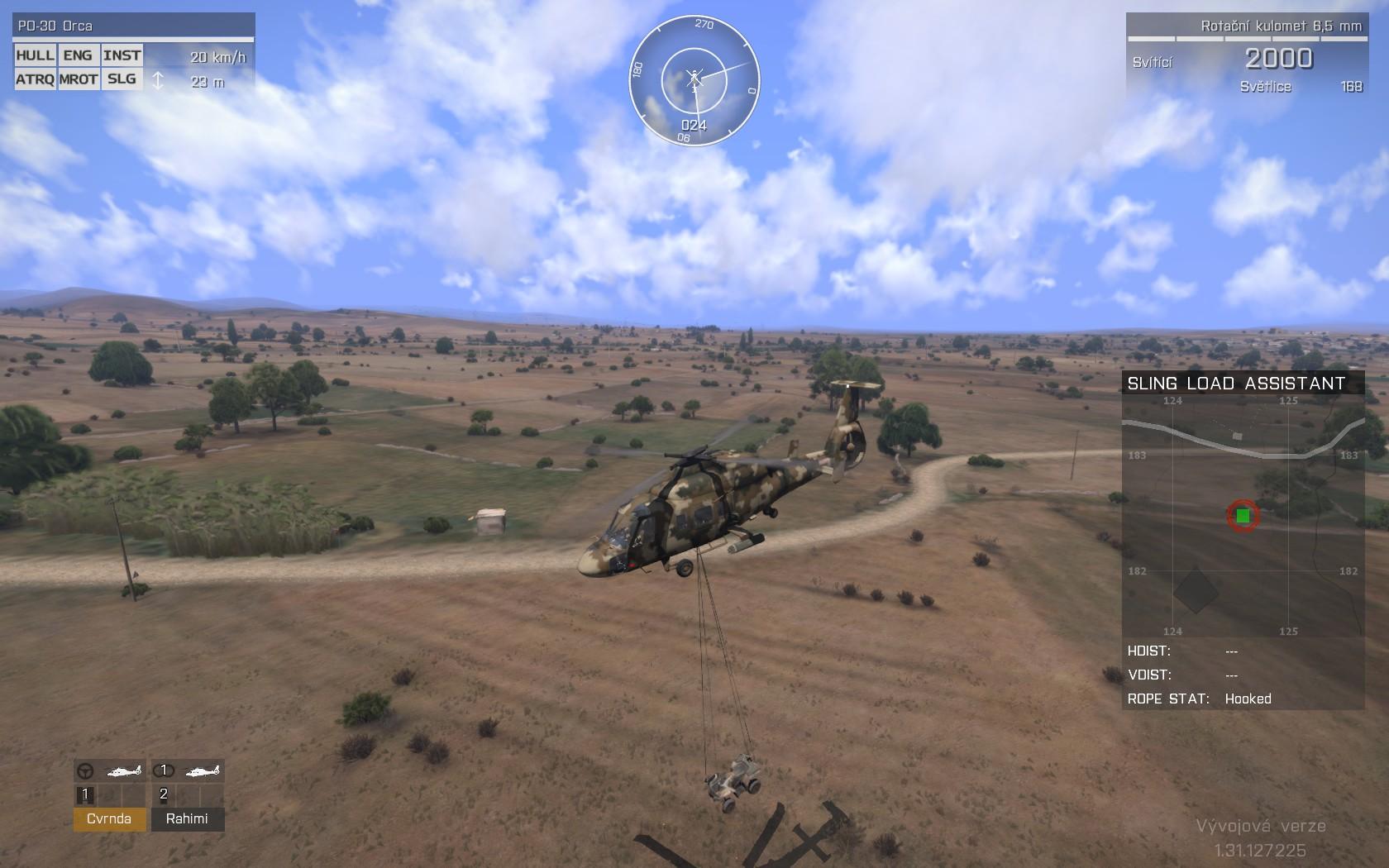 Dojmy z hraní Arma 3: Helicopters a návštěvy Bohemia Interactive 100792
