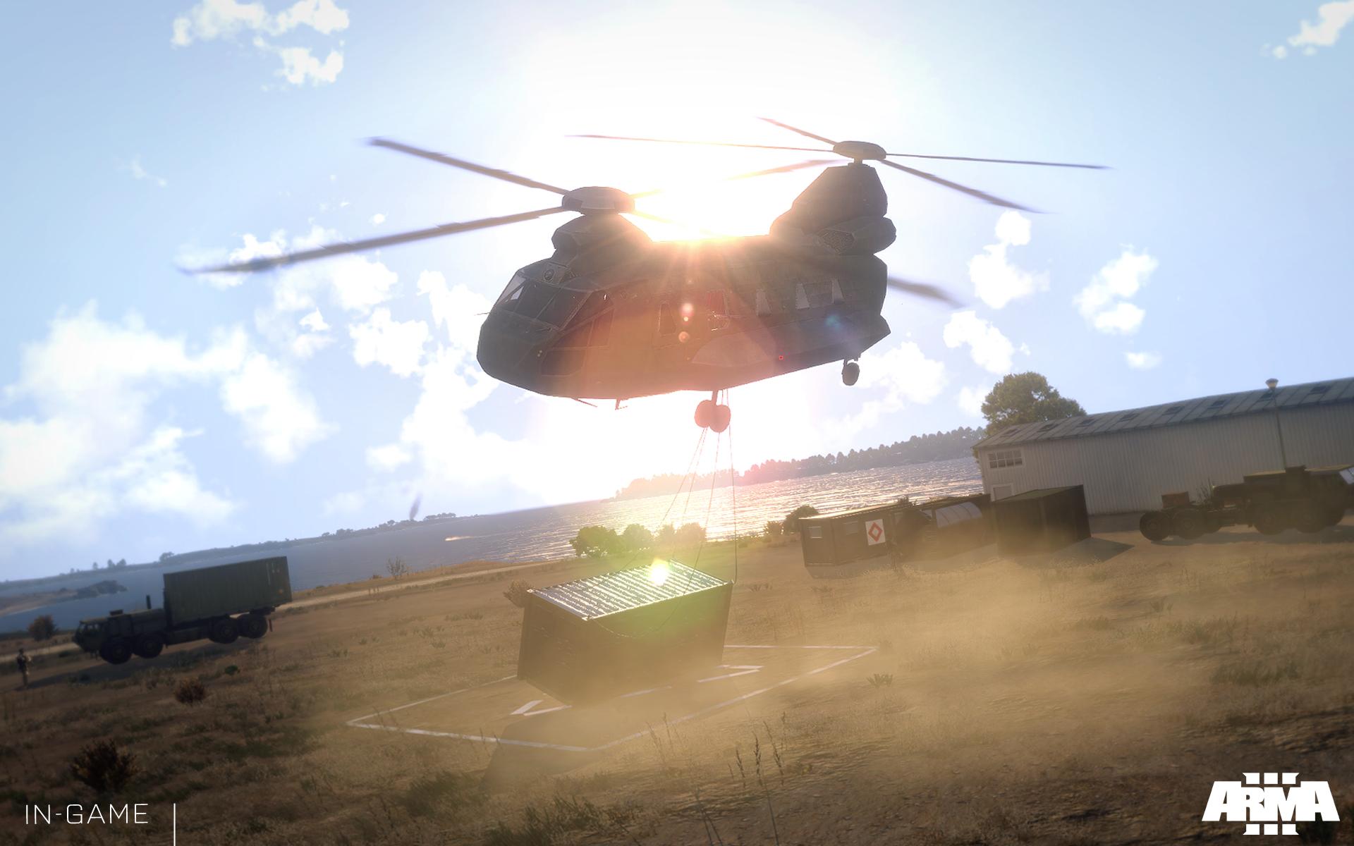 Arma 3: Helicopters přiletí 4. listopadu 100794