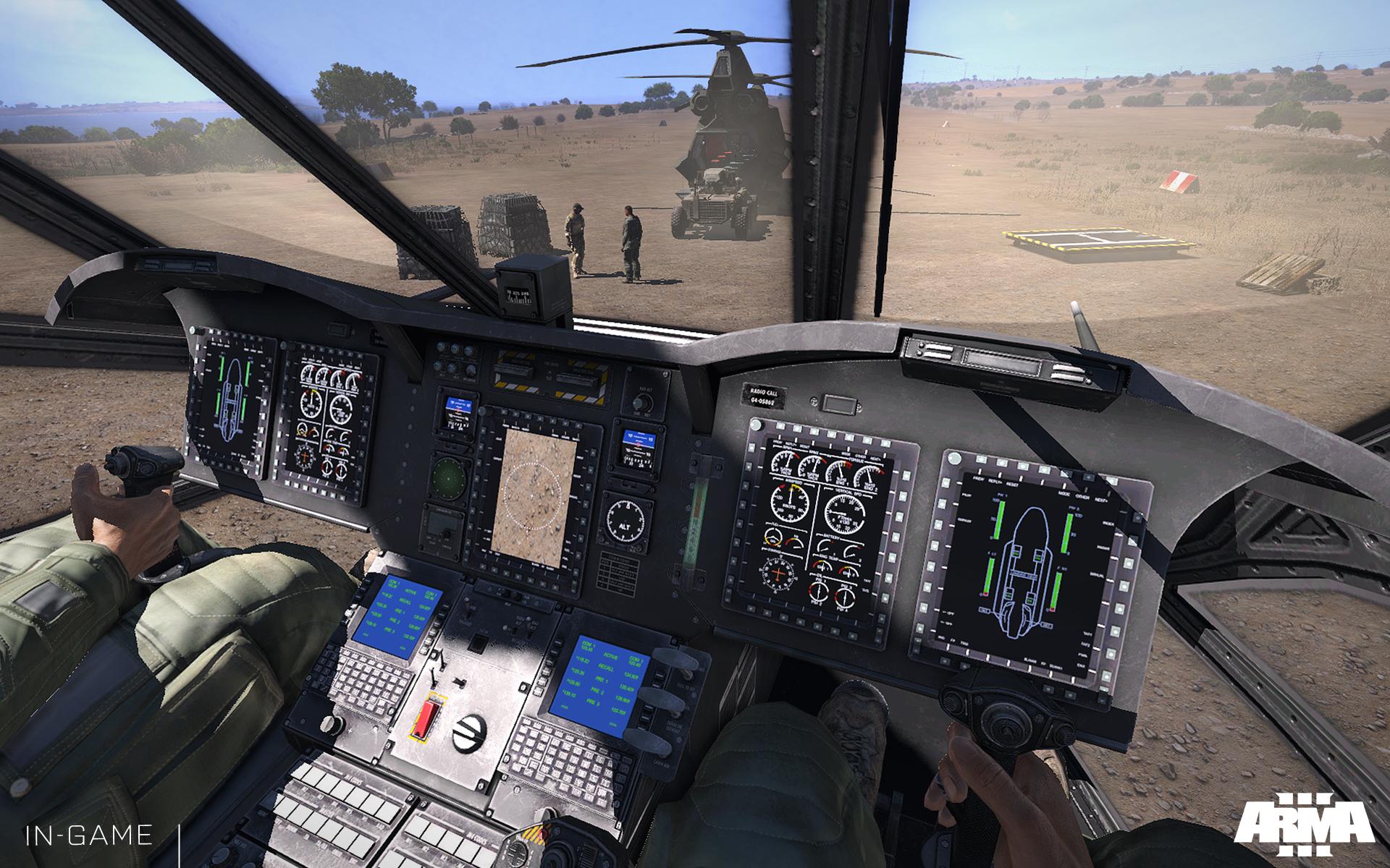 Arma 3: Helicopters přiletí 4. listopadu 100795