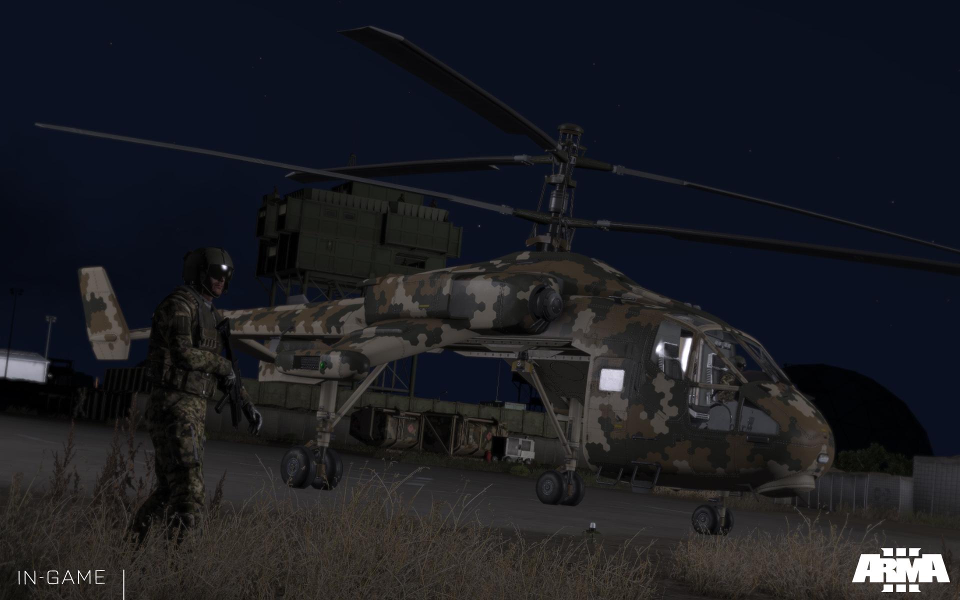 Arma 3: Helicopters přiletí 4. listopadu 100796