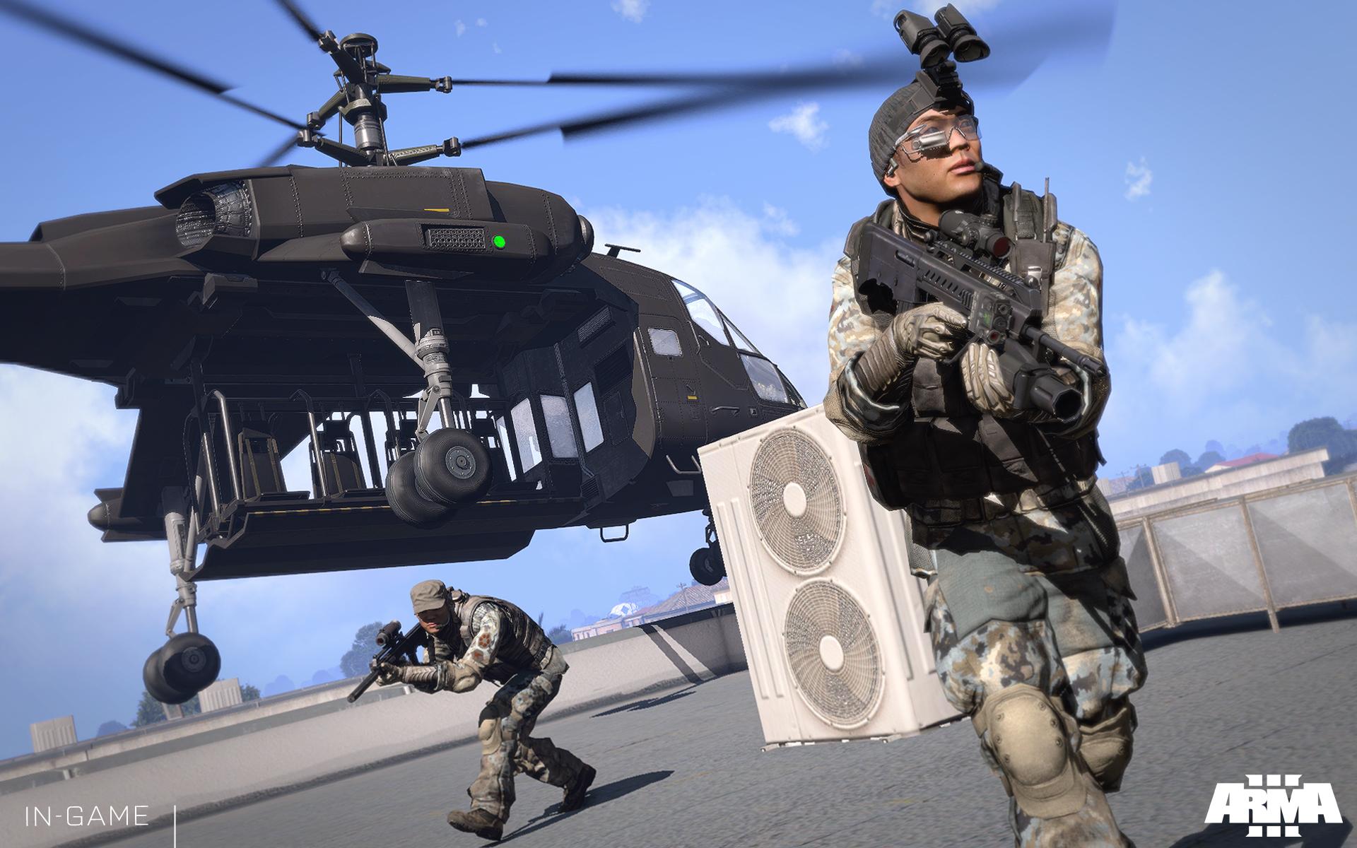 Arma 3: Helicopters přiletí 4. listopadu 100797