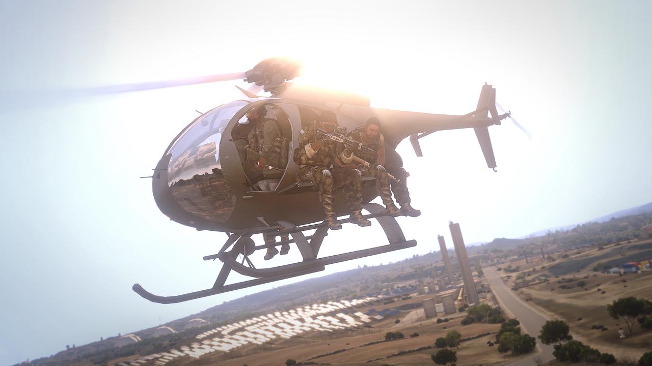 Dojmy z hraní Arma 3: Helicopters a návštěvy Bohemia Interactive 100798
