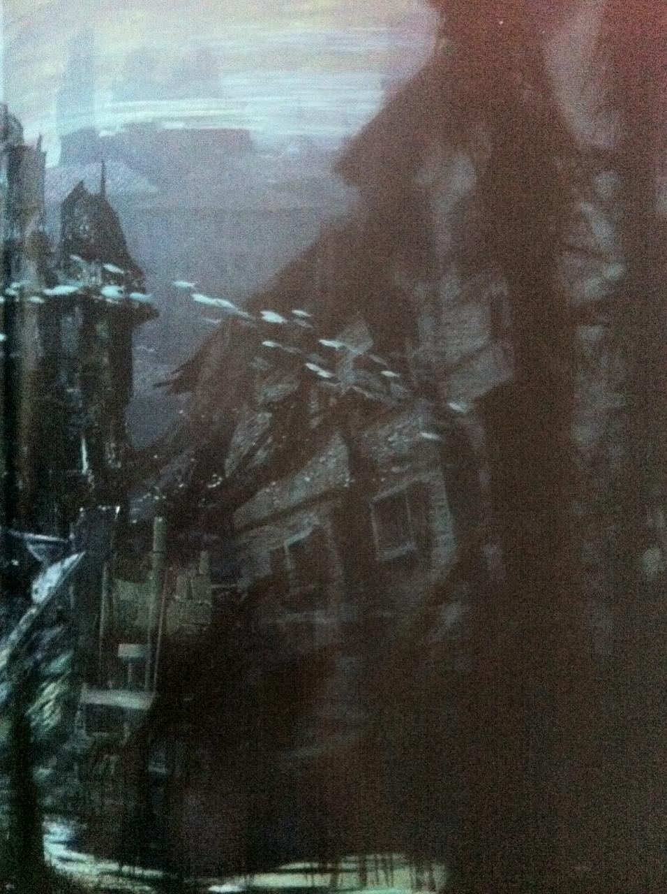 Rozpadající se budovy na artworcích z Uncharted 4 101056