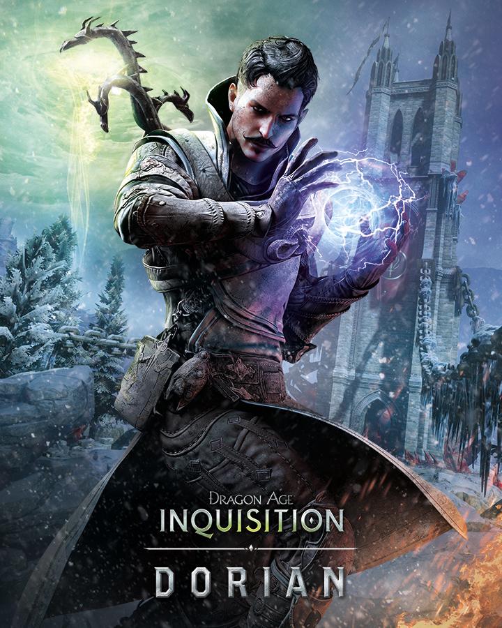 Krásné artworky postav z Dragon Age: Inquisition 101063