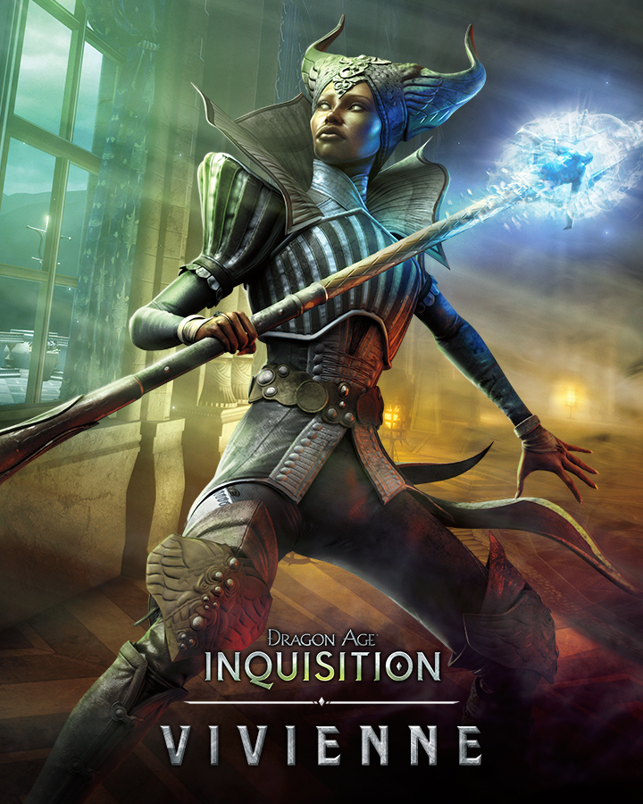 Krásné artworky postav z Dragon Age: Inquisition 101064