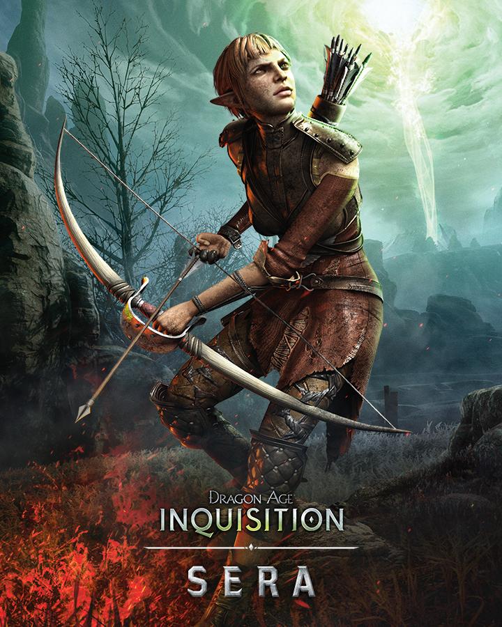 Krásné artworky postav z Dragon Age: Inquisition 101067