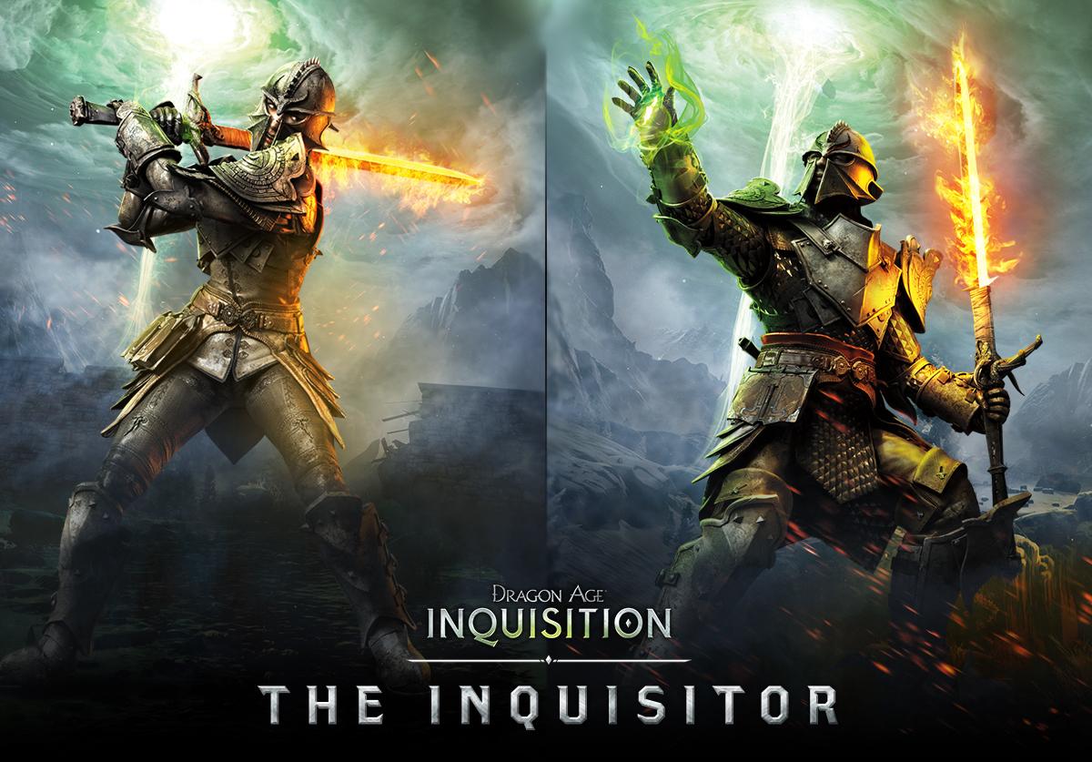 Krásné artworky postav z Dragon Age: Inquisition 101069