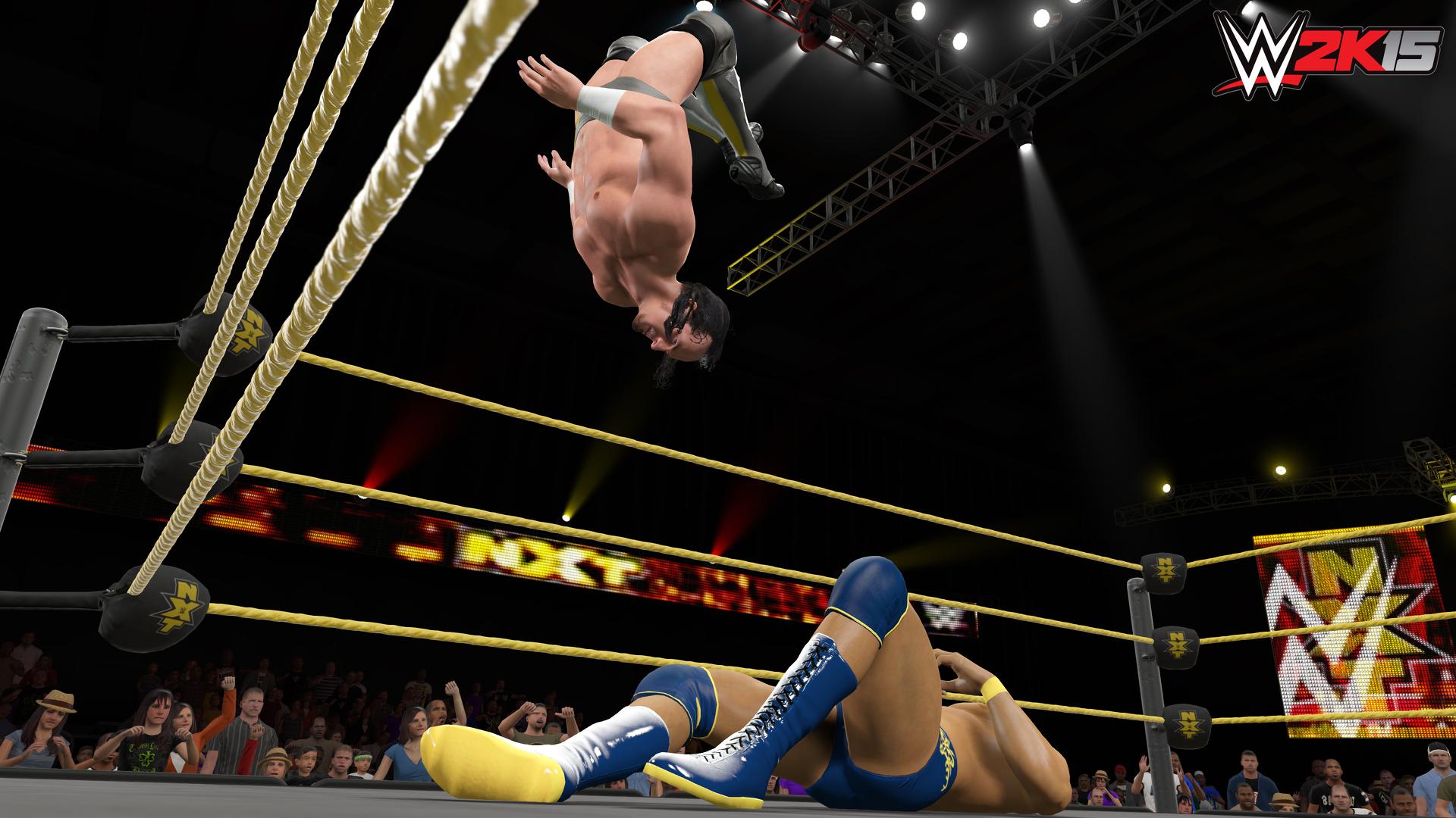 Screenshoty z WWE 2K15 101077