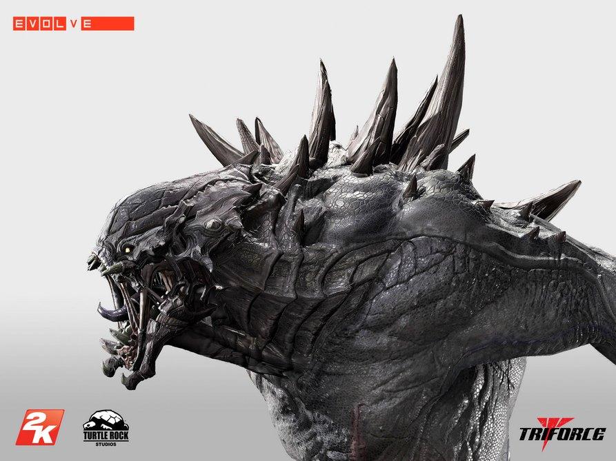 Unikátní soška Goliáše z Evolve za 16 tisíc korun 101177