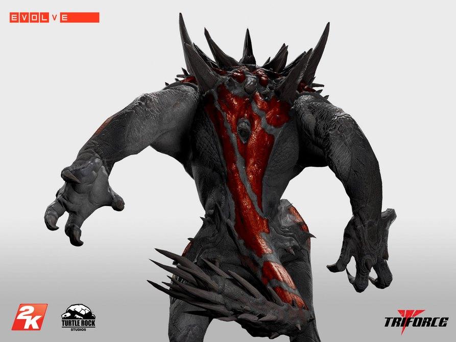 Unikátní soška Goliáše z Evolve za 16 tisíc korun 101178