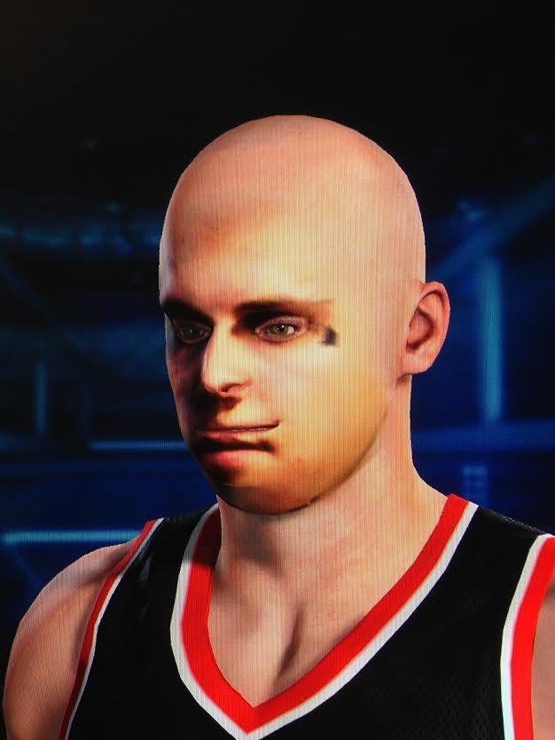Skenování obličeje v NBA 2K15 má své mouchy, vytváří děsivá monstra 101240