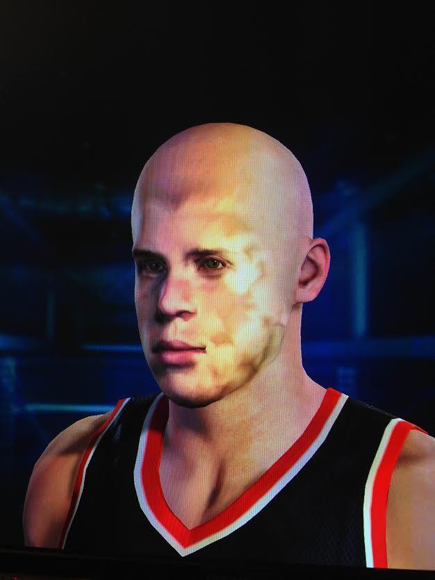 Skenování obličeje v NBA 2K15 má své mouchy, vytváří děsivá monstra 101241