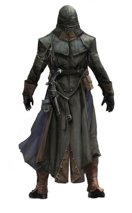 Krásné koncepty z Assassin's Creed: Unity 101247