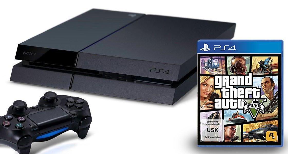 GTA V bude k dostání v PS4 bundlu 101261