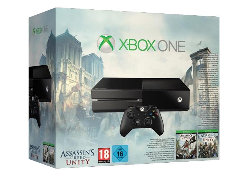 Xbox One dostane bundle s dvěma díly Assassin's Creed 101356