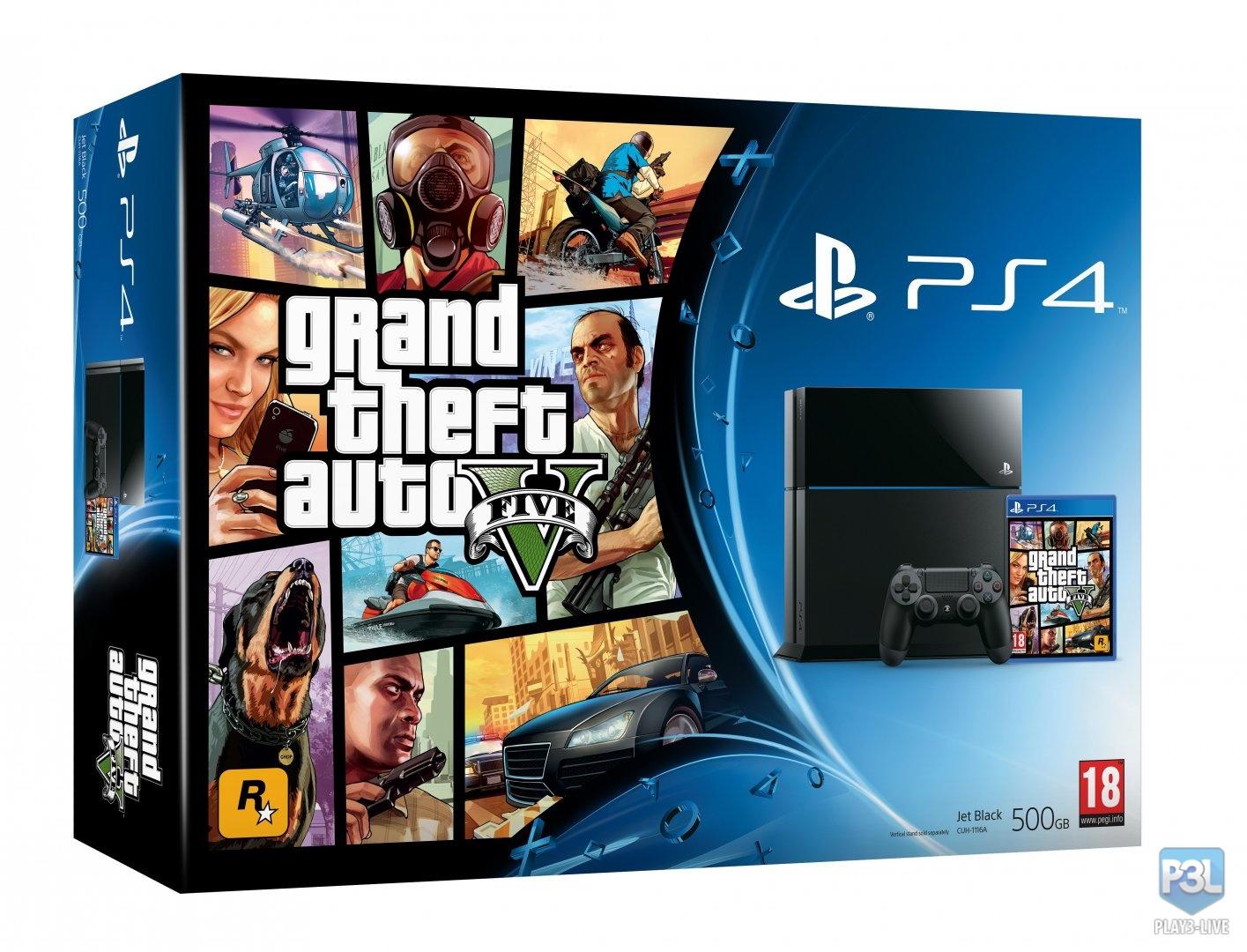 GTA 5 bude i v edici s bílou PS4 101416