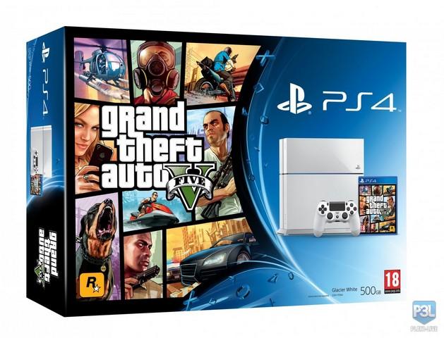GTA 5 bude i v edici s bílou PS4 101417
