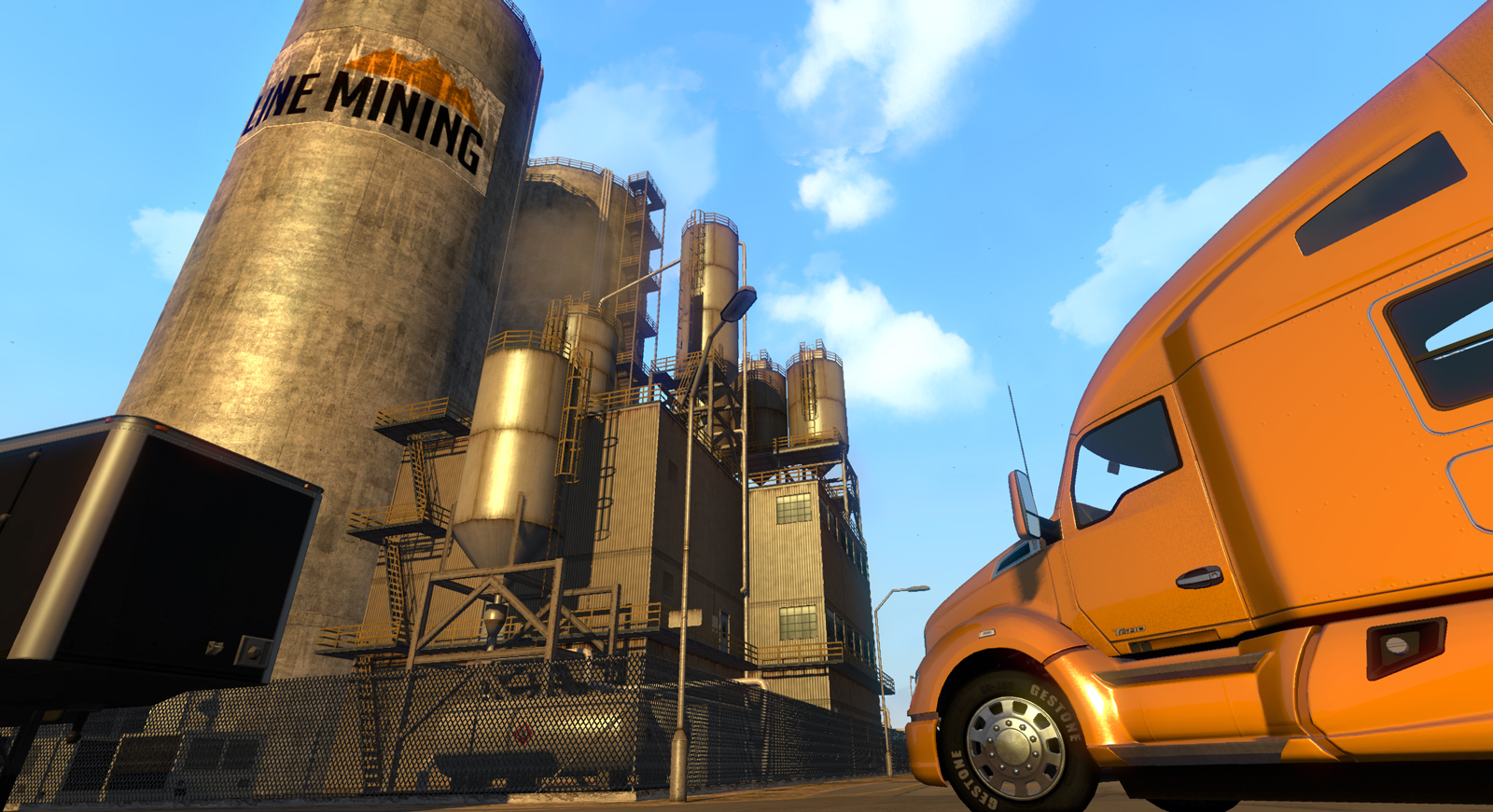 Trojice obrázků z American Truck Simulatoru 101524