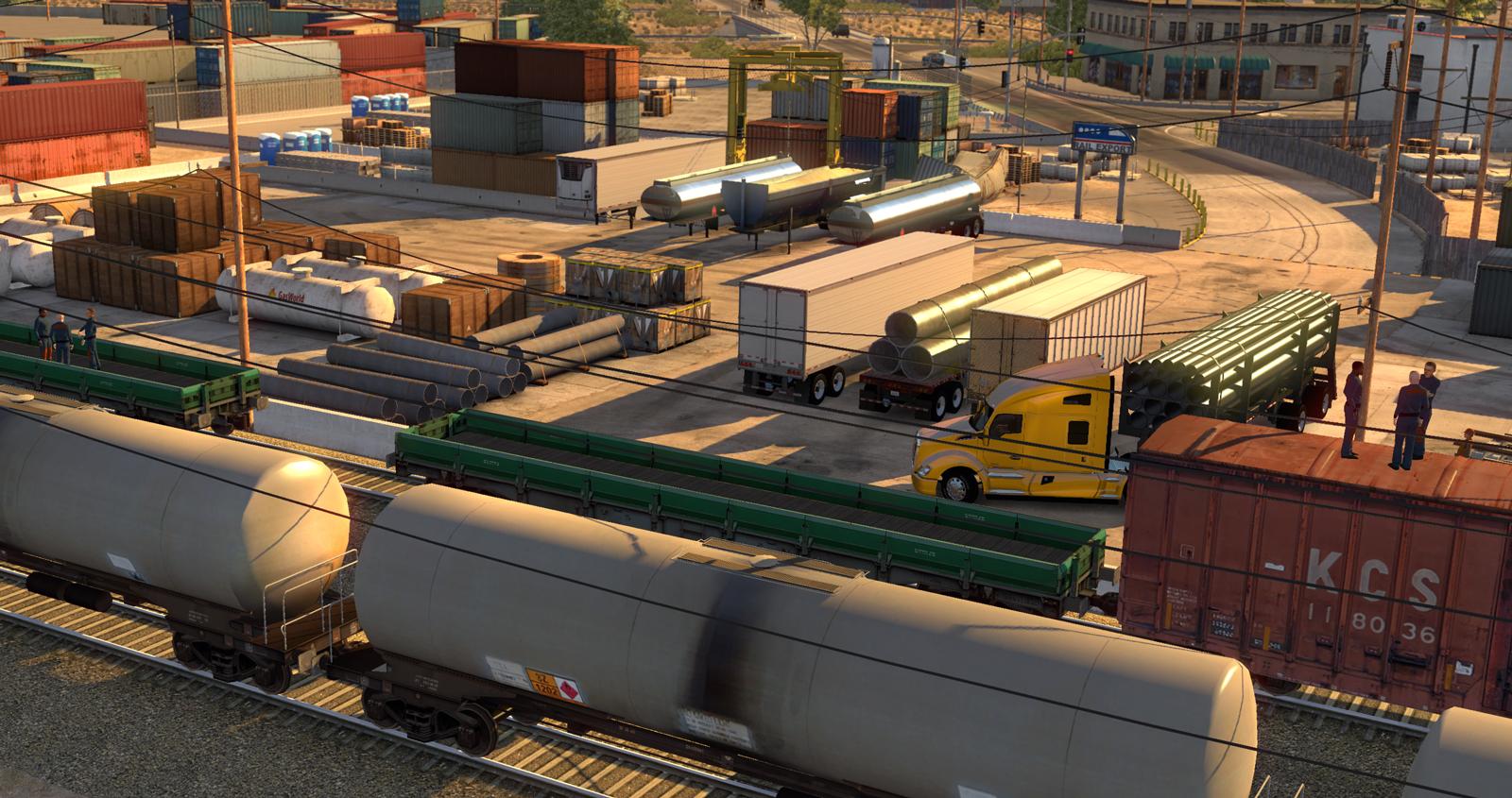 Trojice obrázků z American Truck Simulatoru 101525