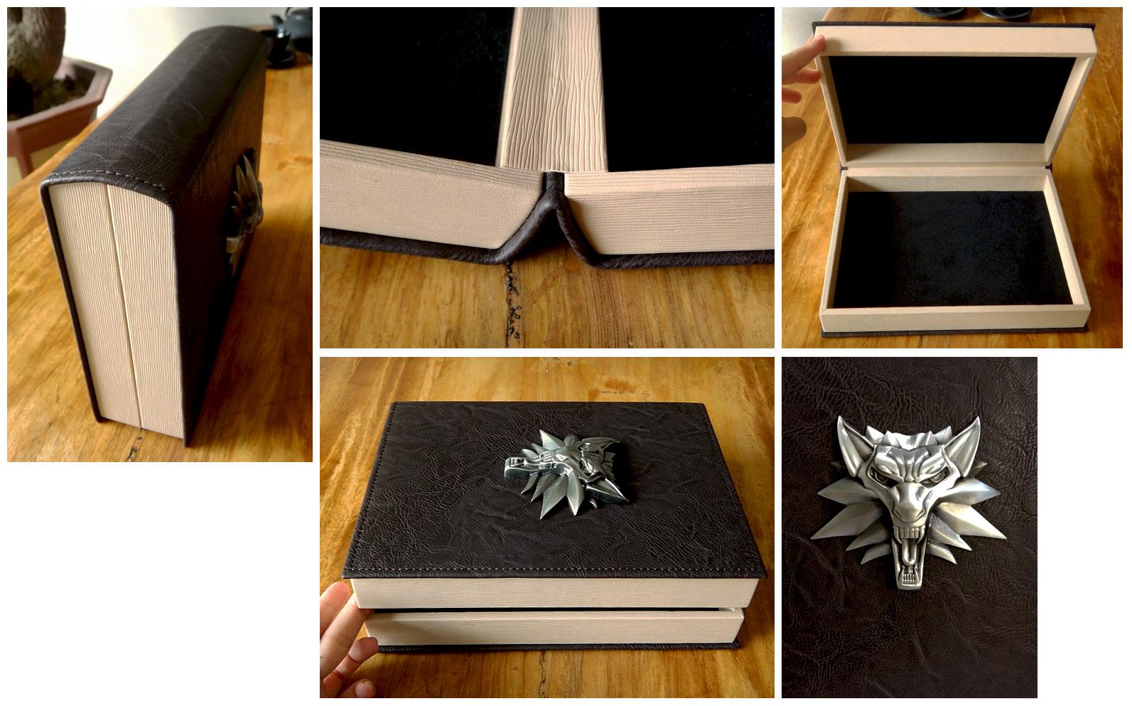 Luxusní knižní box k Zaklínači 101585