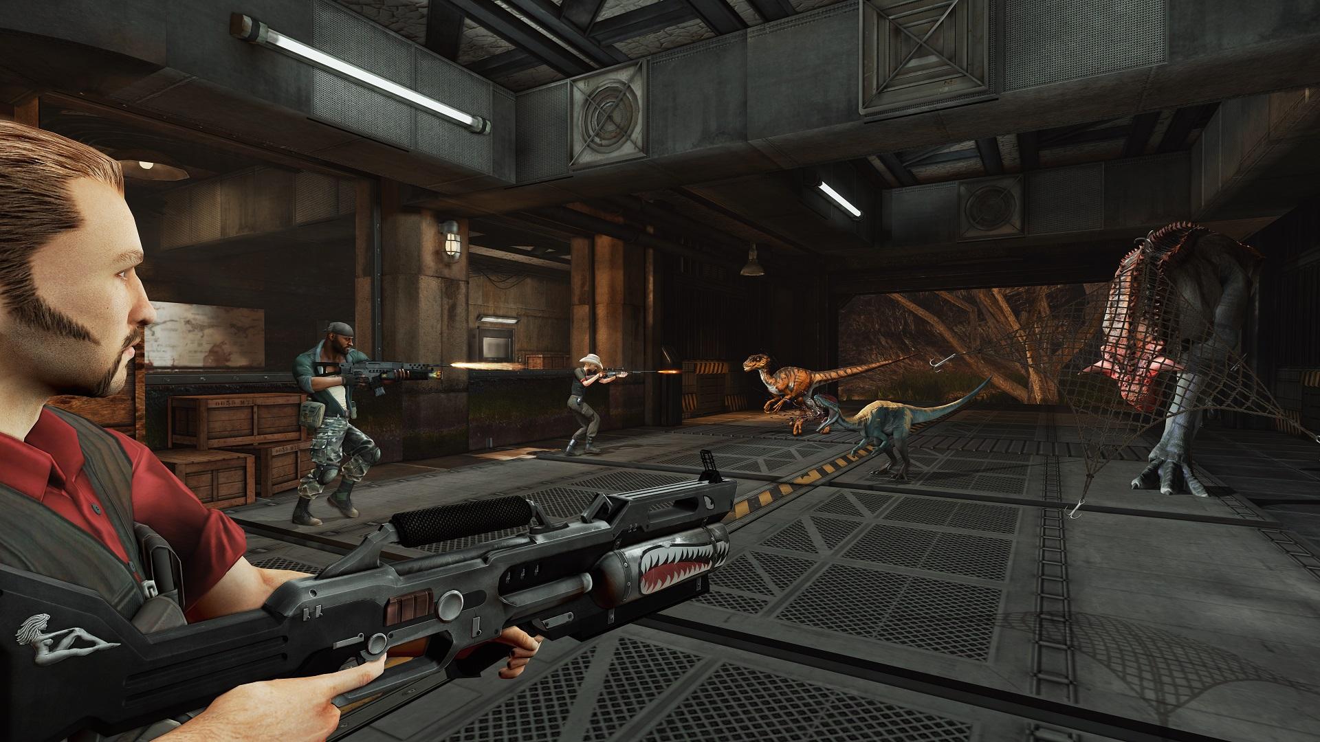 Multiplayerová střílečka Primal Carnage: Extinction letos pro PC 101689