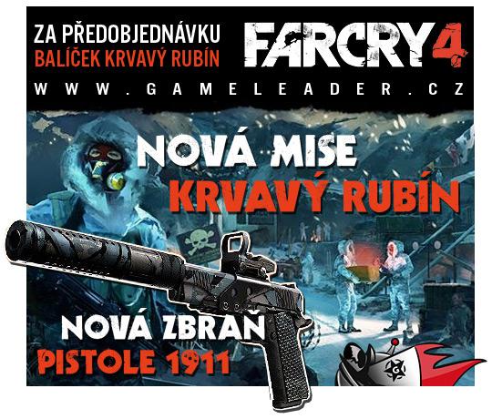 Předobjednejte si Far Cry 4, dostanete tričko a DLC 101720