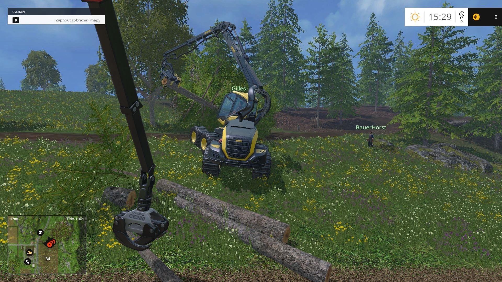 Farming Simulator 15 - zemědělství a lesnictví 101796