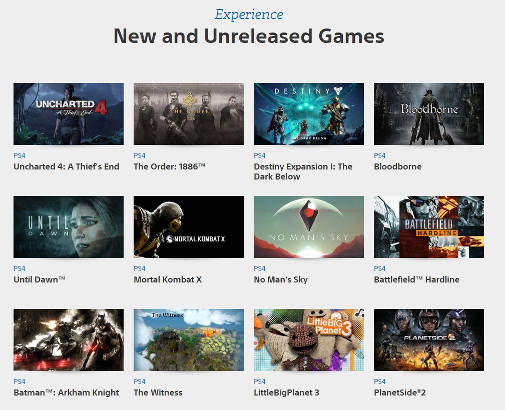 Sony: PlayStation Experience je pro hráče 101820