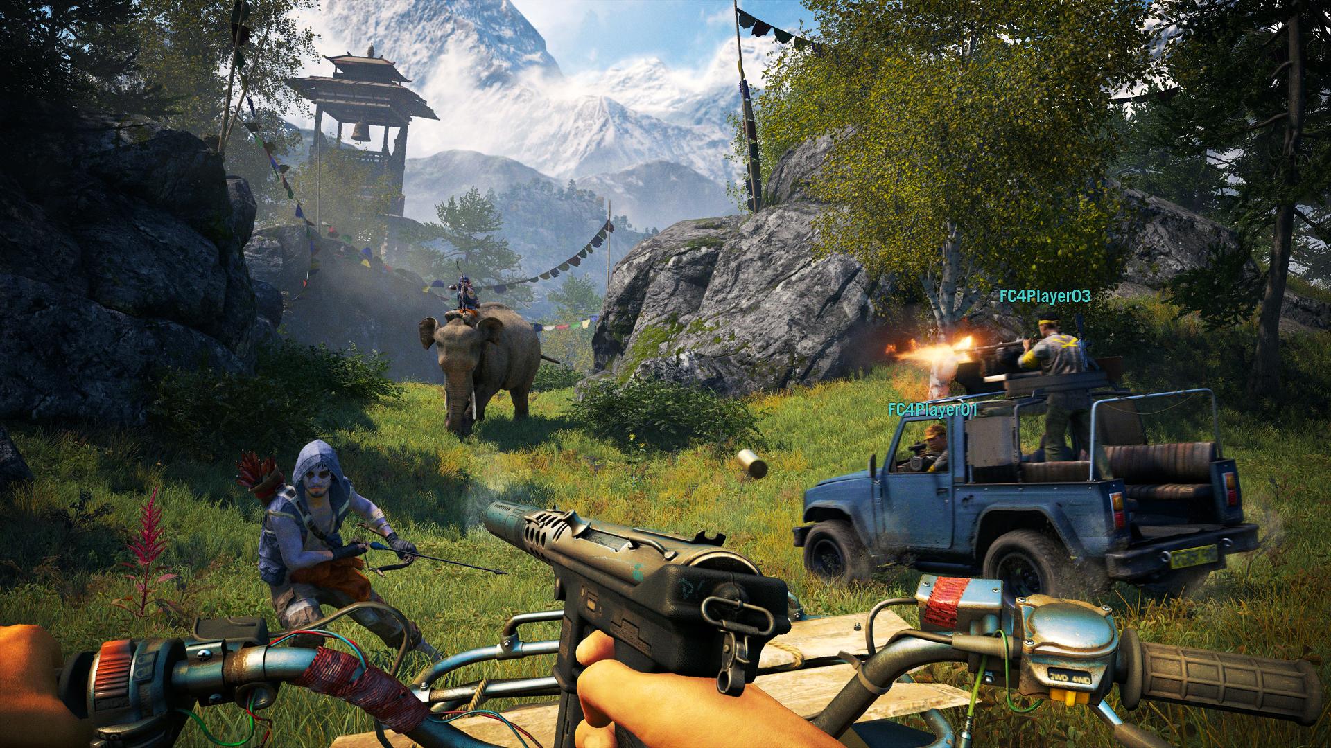 Ještě obrázky z multiplayeru Far Cry 4 101857