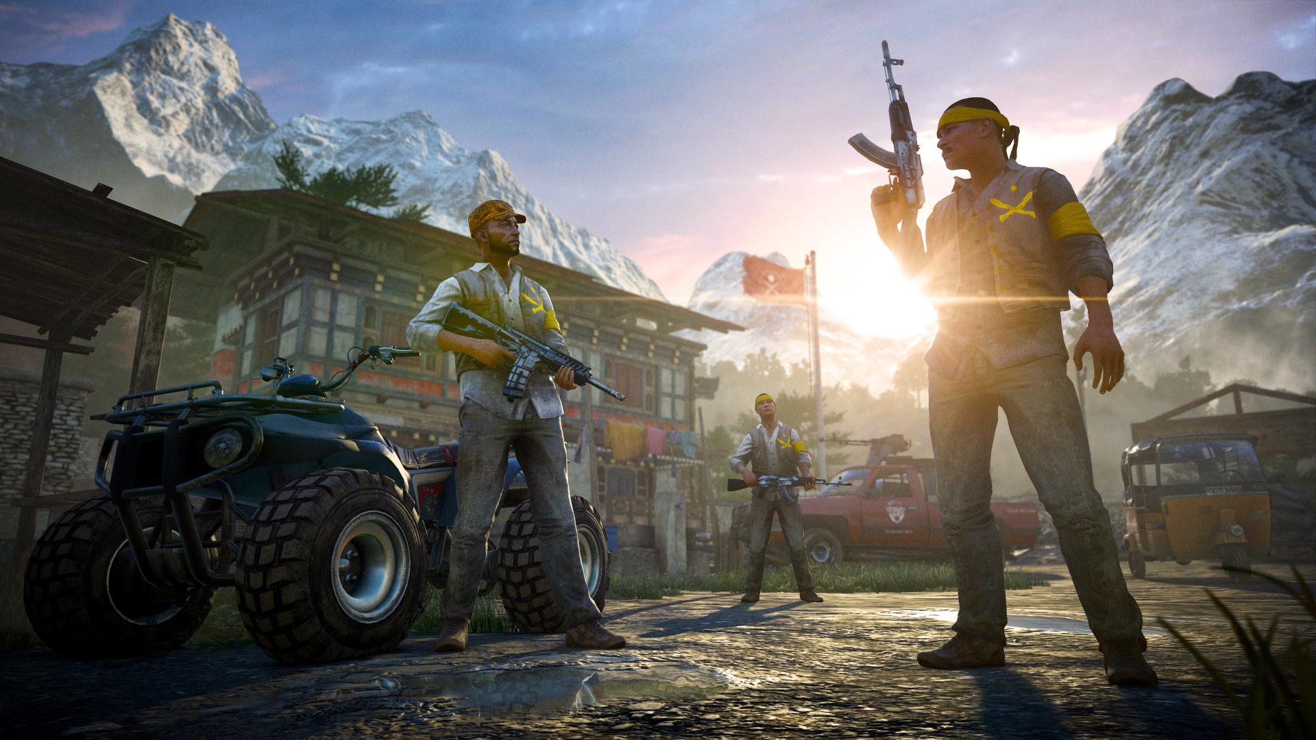 Ještě obrázky z multiplayeru Far Cry 4 101860