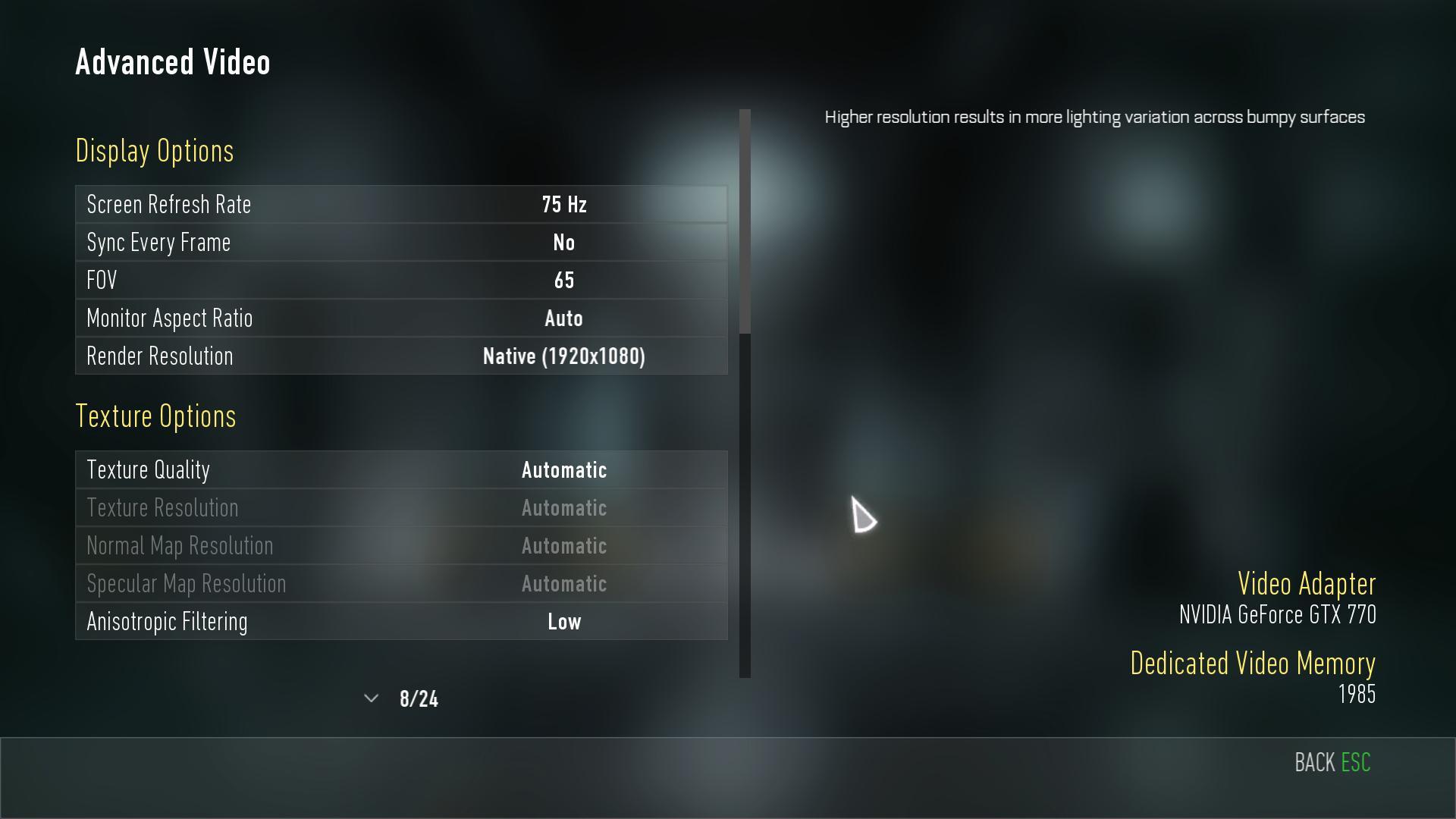 Nastavení grafiky, obrázky z PC verze a videa z nového Call of Duty 101885